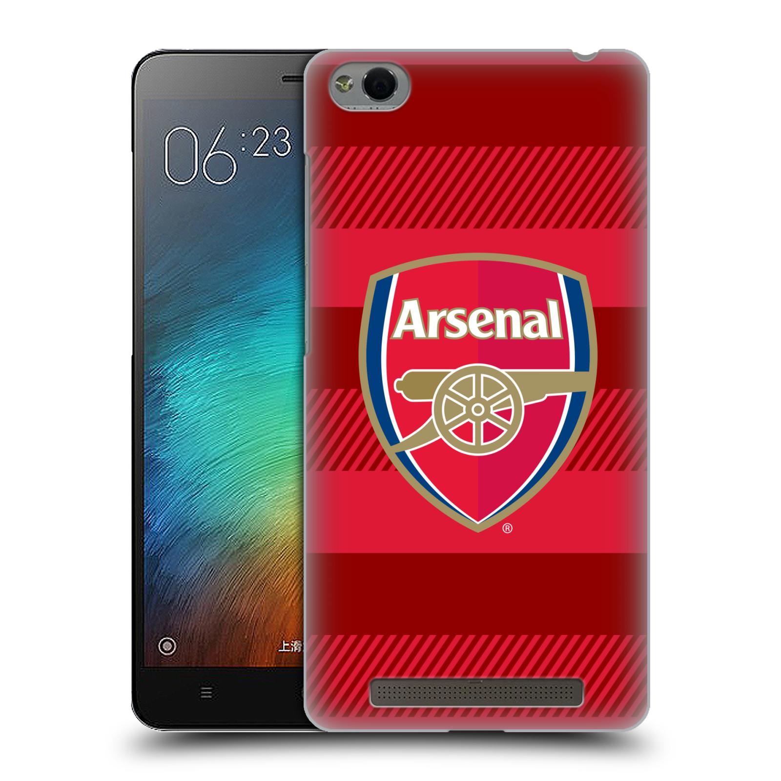 Plastové pouzdro na mobil Xiaomi Redmi 3 - Head Case - Arsenal FC - Logo s pruhy