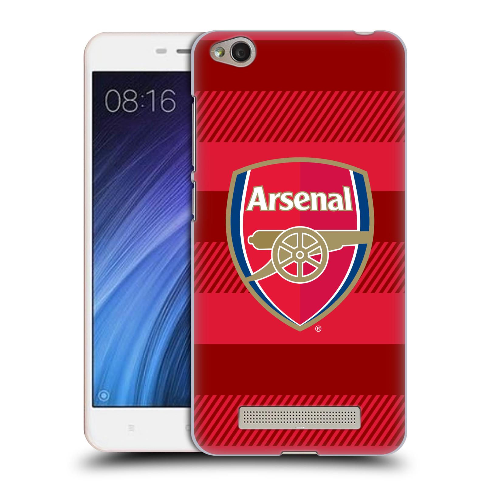 Plastové pouzdro na mobil Xiaomi Redmi 4A - Head Case - Arsenal FC - Logo s pruhy