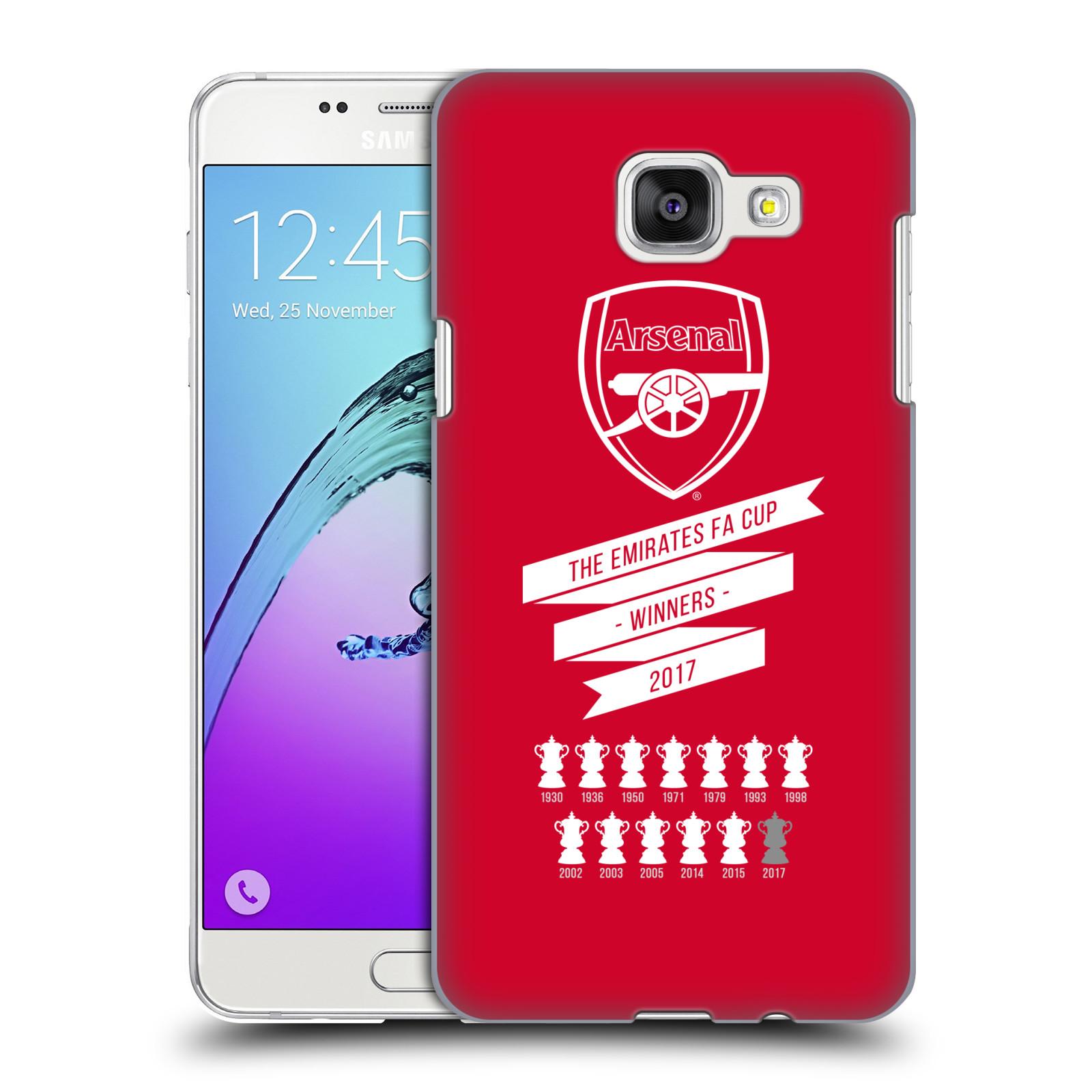 Plastové pouzdro na mobil Samsung Galaxy A5 (2016) - Head Case - Arsenal FC - 13 Wins