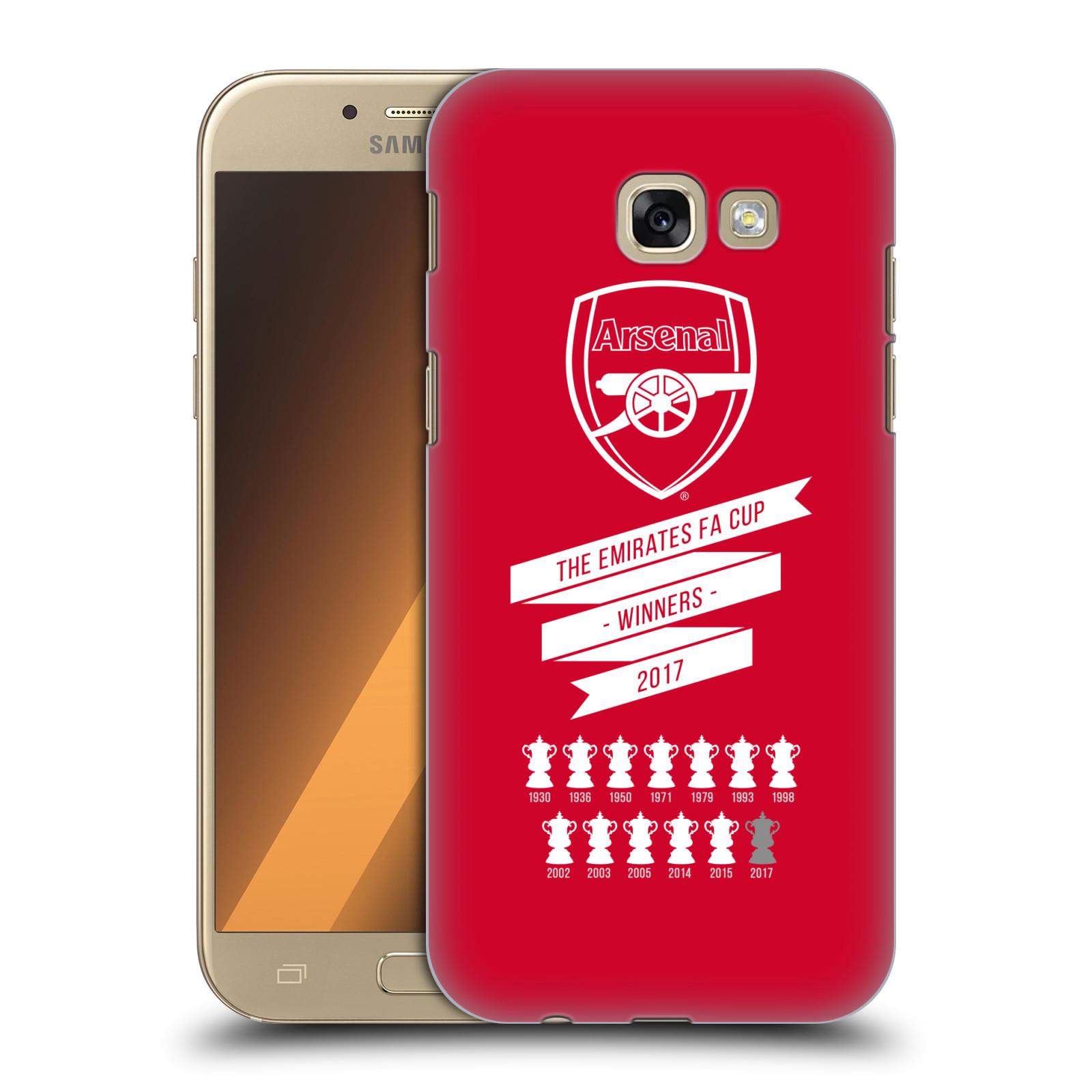 Plastové pouzdro na mobil Samsung Galaxy A5 (2017) - Head Case - Arsenal FC - 13 Wins