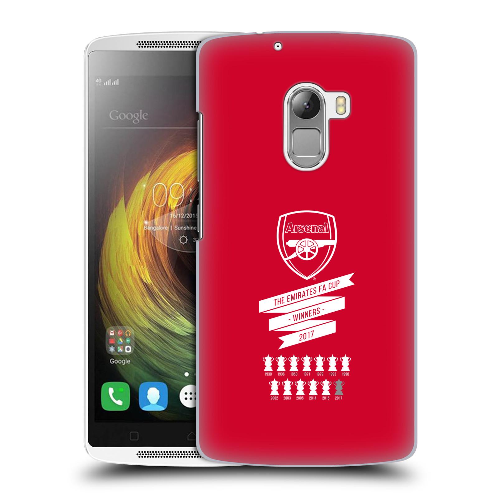 Plastové pouzdro na mobil Lenovo A7010 - Head Case - Arsenal FC - 13 Wins