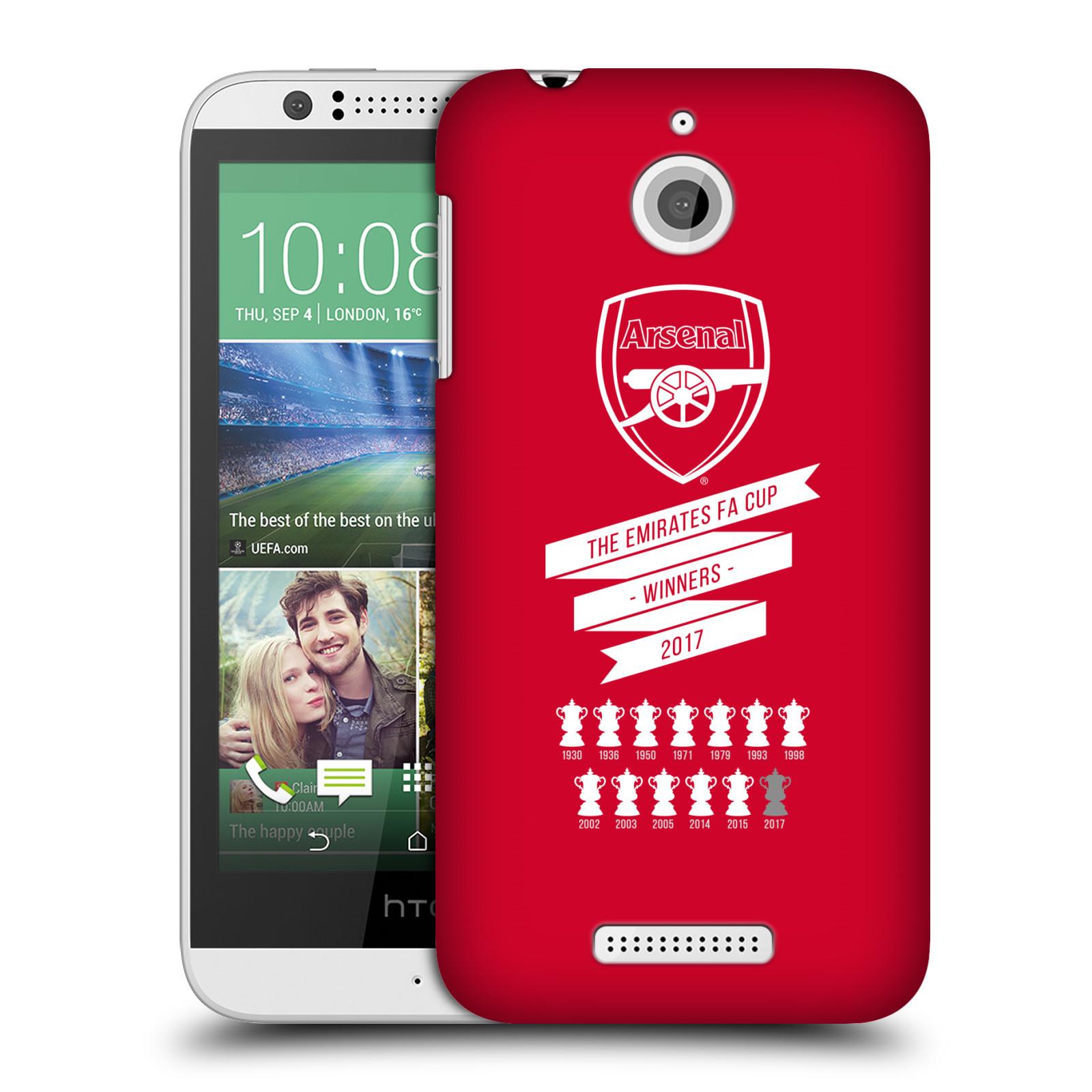 Plastové pouzdro na mobil HTC Desire 510 - Head Case - Arsenal FC - 13 Wins
