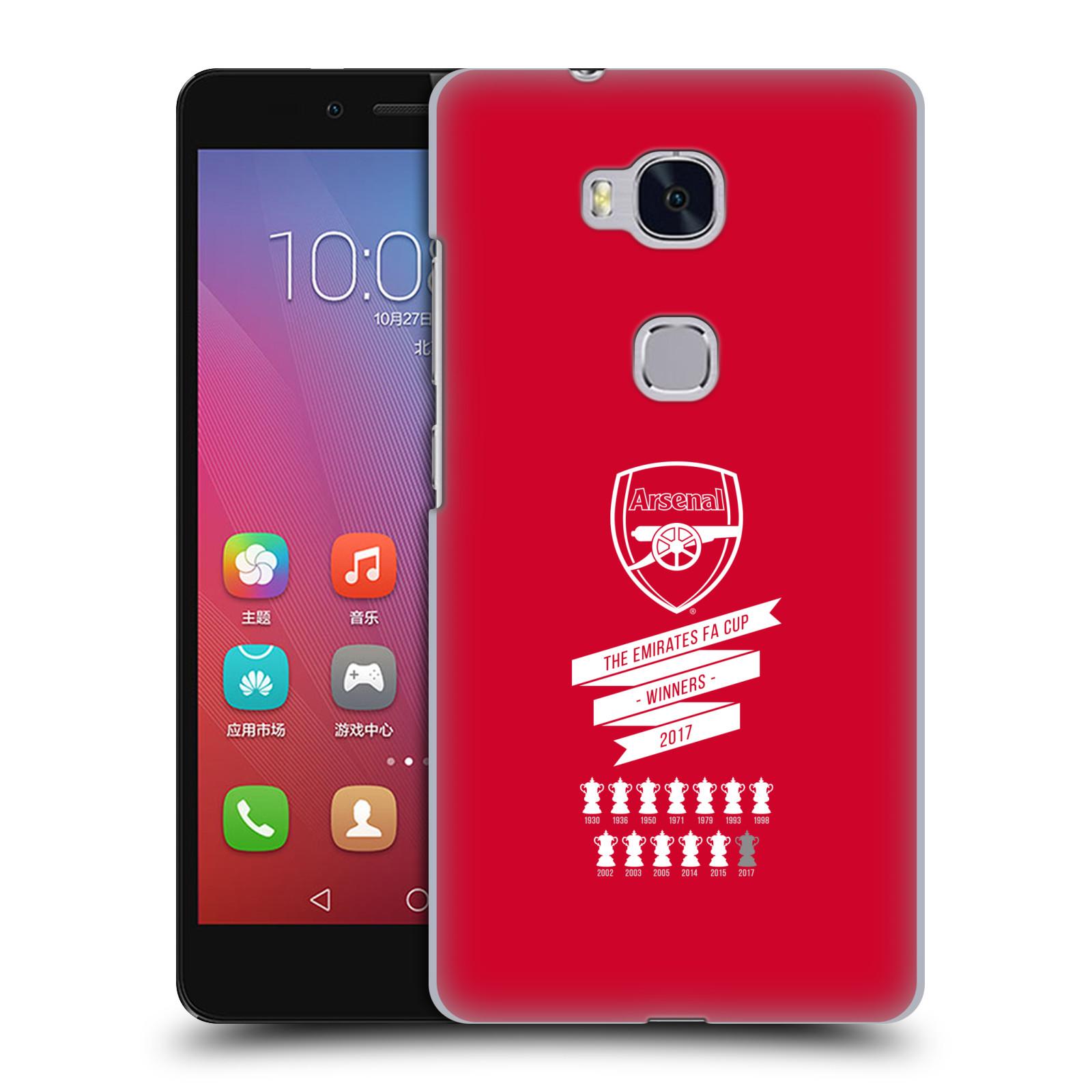Plastové pouzdro na mobil Honor 5X - Head Case - Arsenal FC - 13 Wins