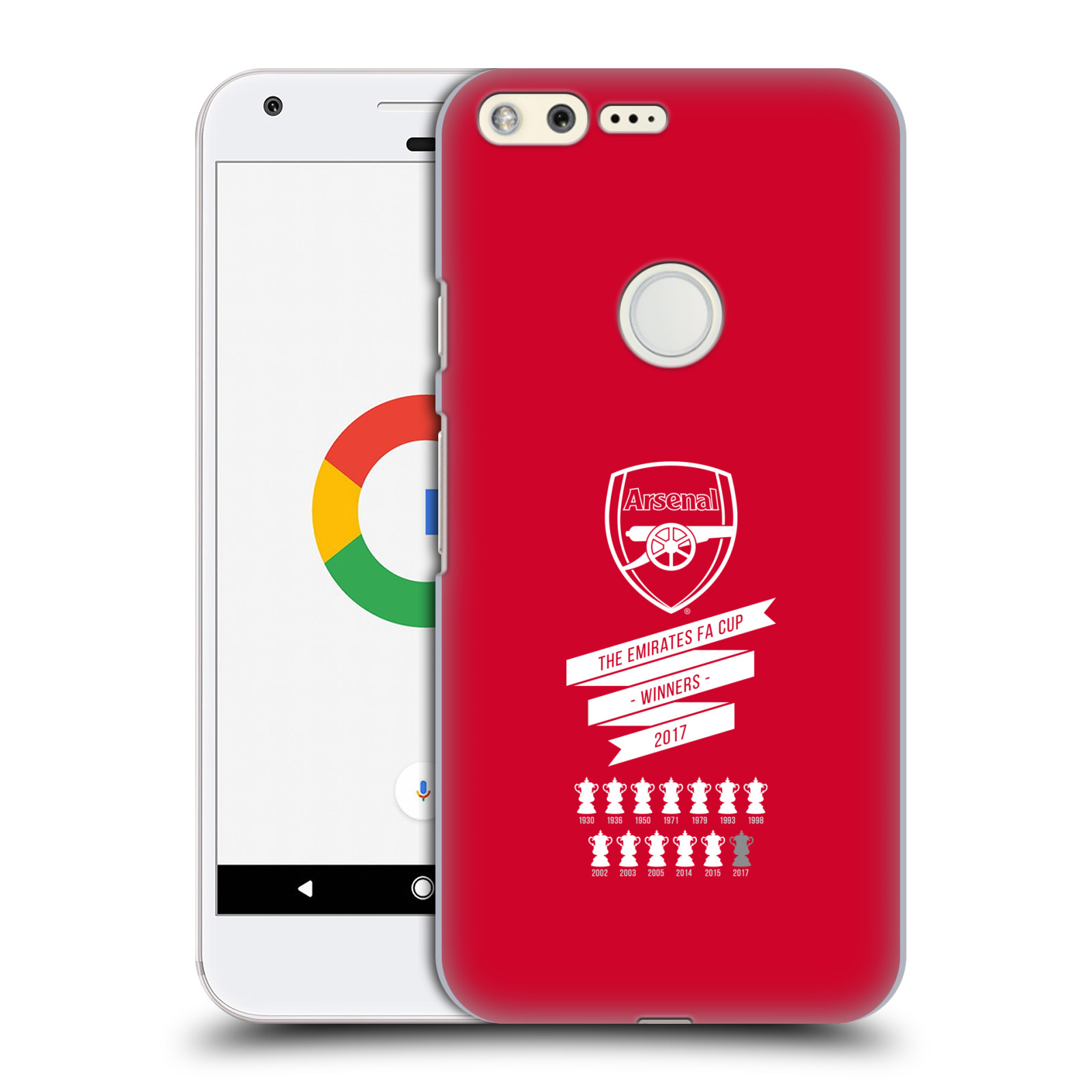 Plastové pouzdro na mobil Google Pixel - Head Case - Arsenal FC - 13 Wins