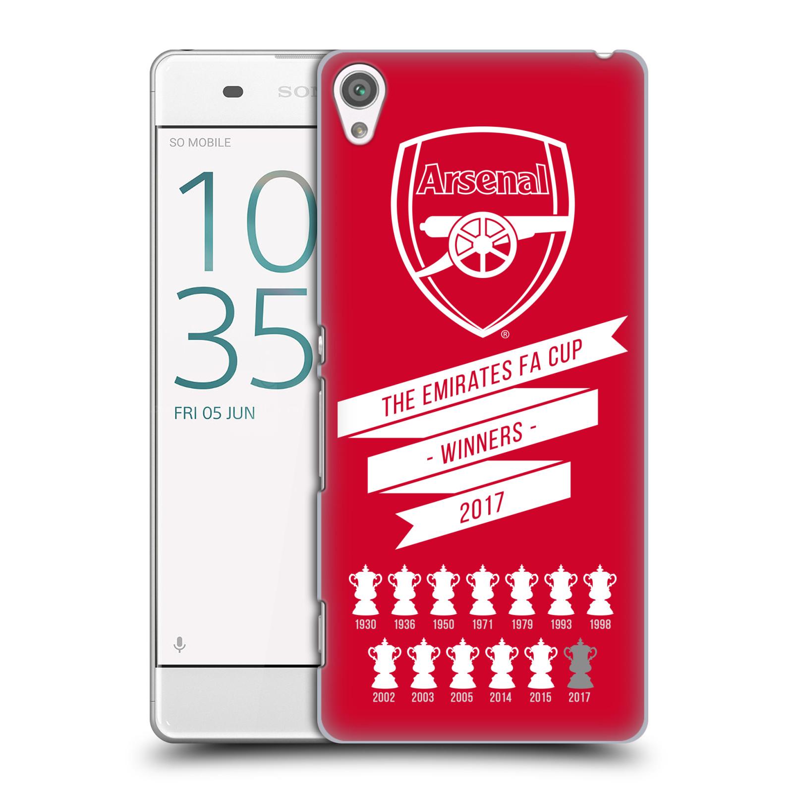 Plastové pouzdro na mobil Sony Xperia XA - Head Case - Arsenal FC - 13 Wins