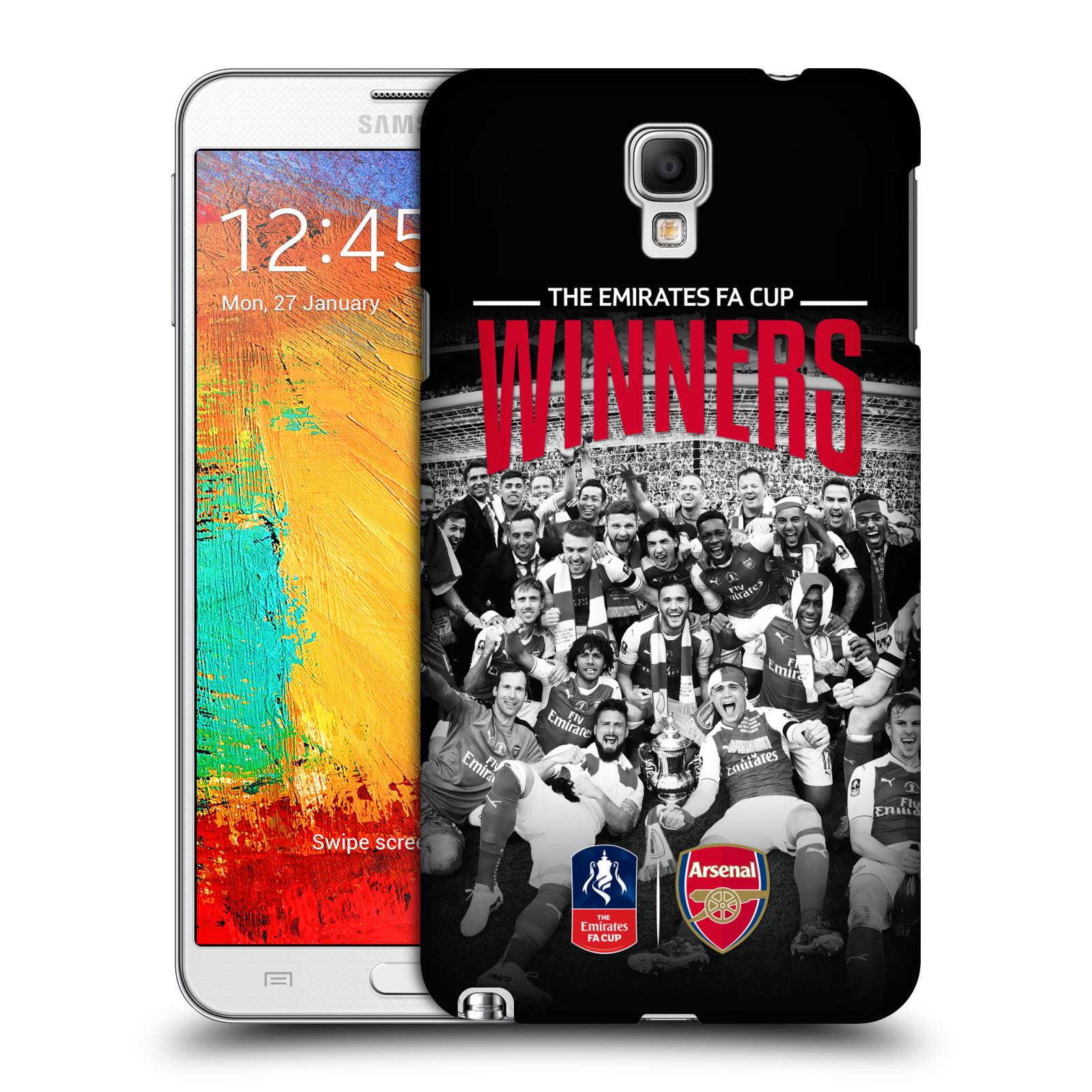Plastové pouzdro na mobil Samsung Galaxy Note 3 Neo - Head Case - Arsenal FC - Celebration