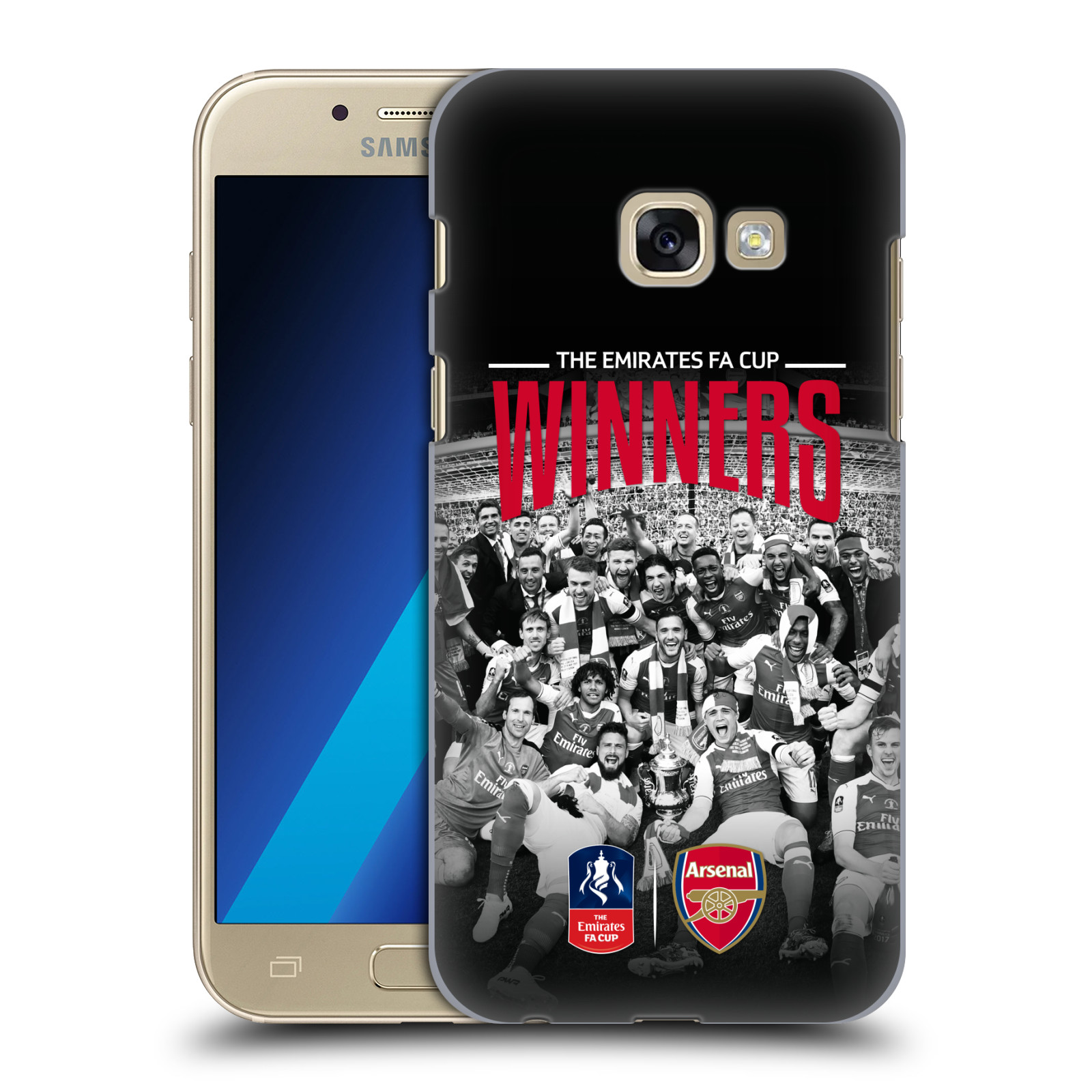 Plastové pouzdro na mobil Samsung Galaxy A3 (2017) - Head Case - Arsenal FC - Celebration