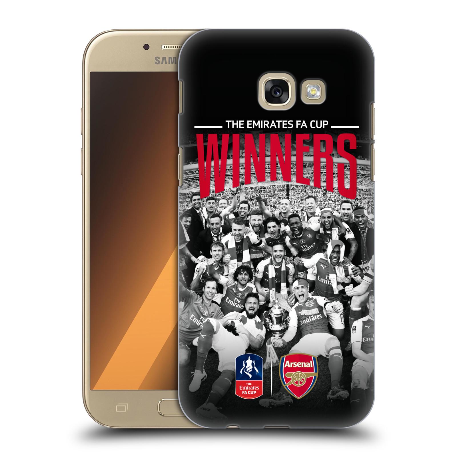 Plastové pouzdro na mobil Samsung Galaxy A5 (2017) - Head Case - Arsenal FC - Celebration