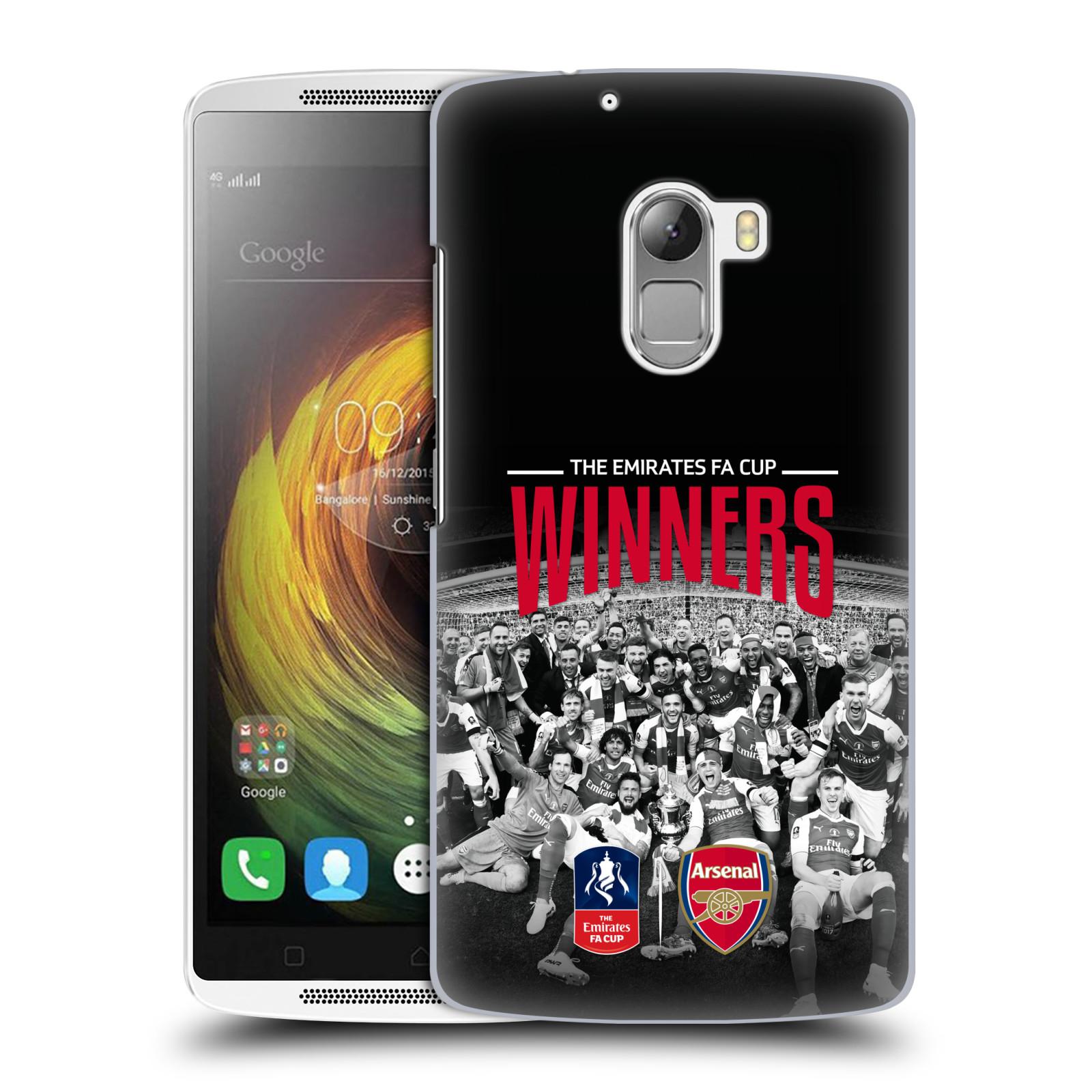 Plastové pouzdro na mobil Lenovo A7010 - Head Case - Arsenal FC - Celebration