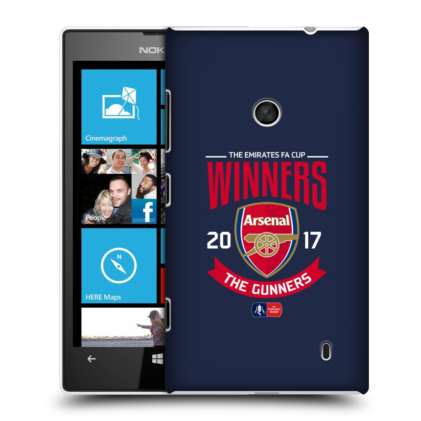 Plastové pouzdro na mobil Nokia Lumia 520 - Head Case - Arsenal FC - Crest