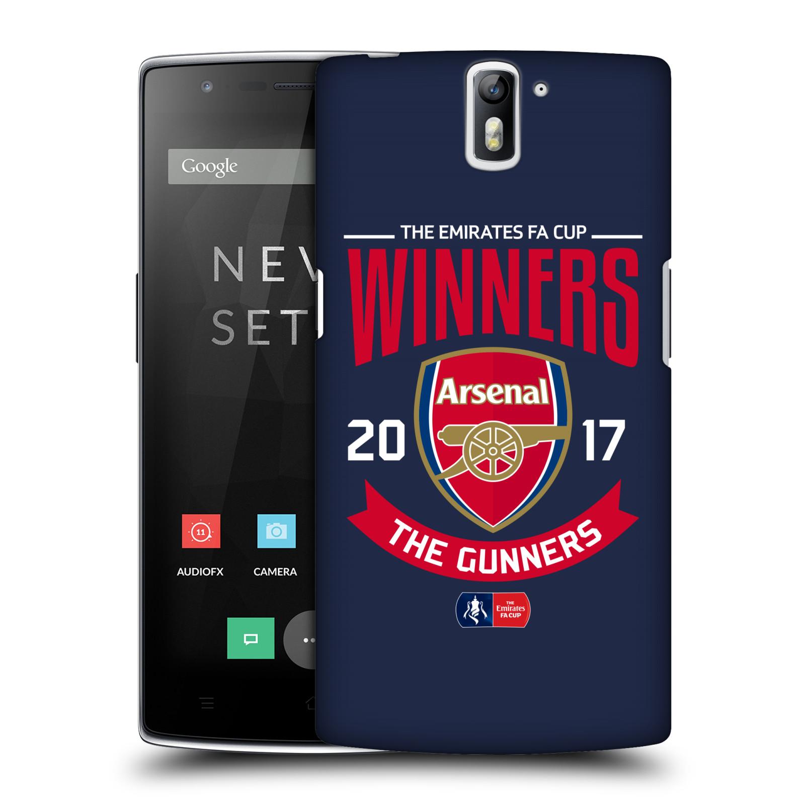 Plastové pouzdro na mobil OnePlus One - Head Case - Arsenal FC - Crest