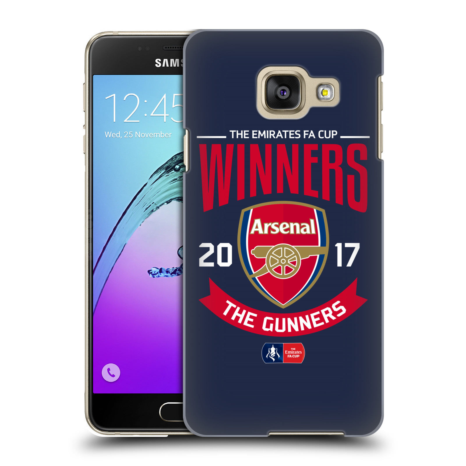 Plastové pouzdro na mobil Samsung Galaxy A3 (2016) - Head Case - Arsenal FC - Crest