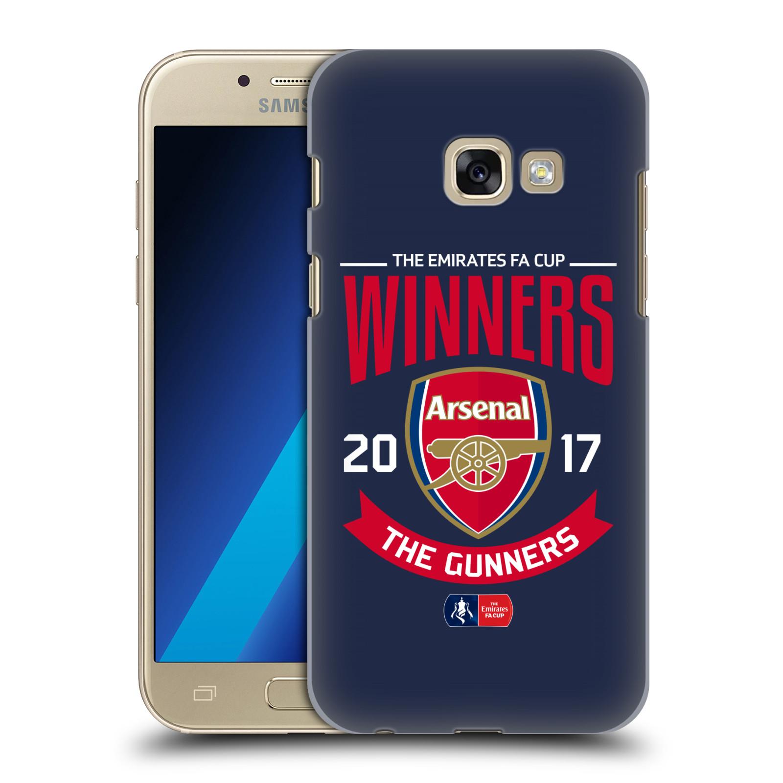 Plastové pouzdro na mobil Samsung Galaxy A3 (2017) - Head Case - Arsenal FC - Crest