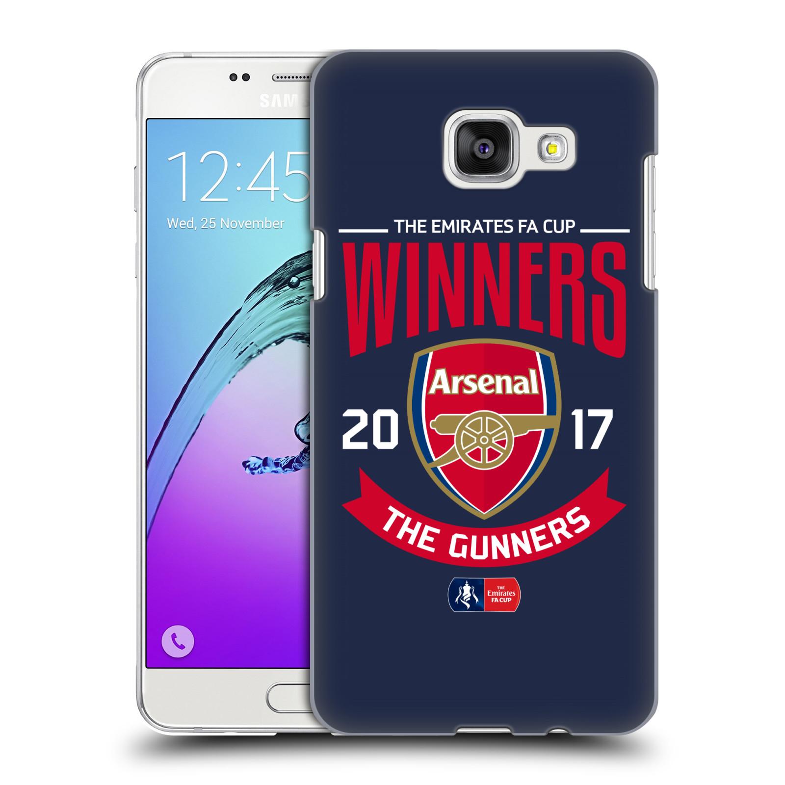 Plastové pouzdro na mobil Samsung Galaxy A5 (2016) - Head Case - Arsenal FC - Crest