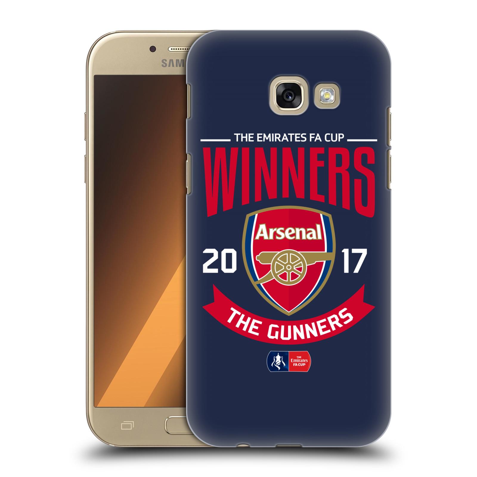 Plastové pouzdro na mobil Samsung Galaxy A5 (2017) - Head Case - Arsenal FC - Crest