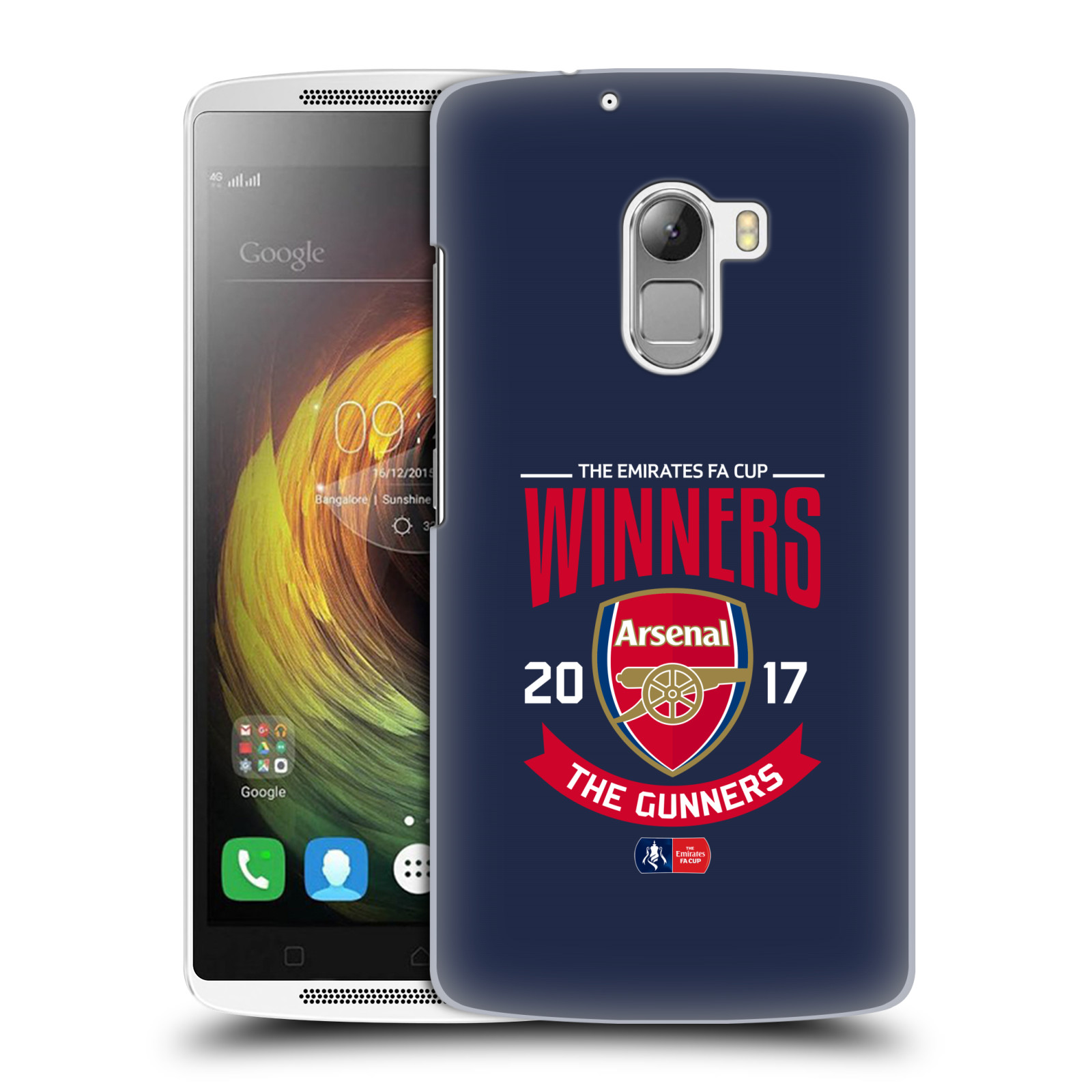 Plastové pouzdro na mobil Lenovo A7010 - Head Case - Arsenal FC - Crest