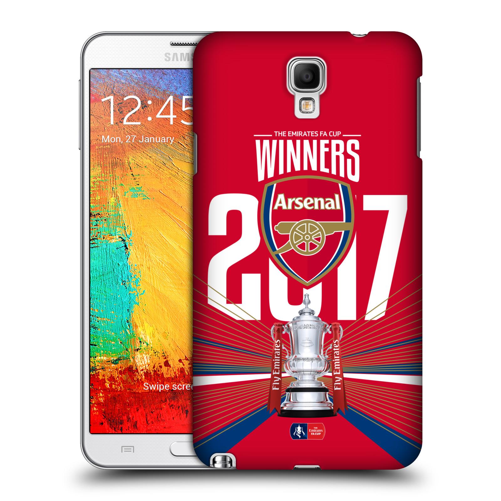 Plastové pouzdro na mobil Samsung Galaxy Note 3 Neo - Head Case - Arsenal FC - Trophy