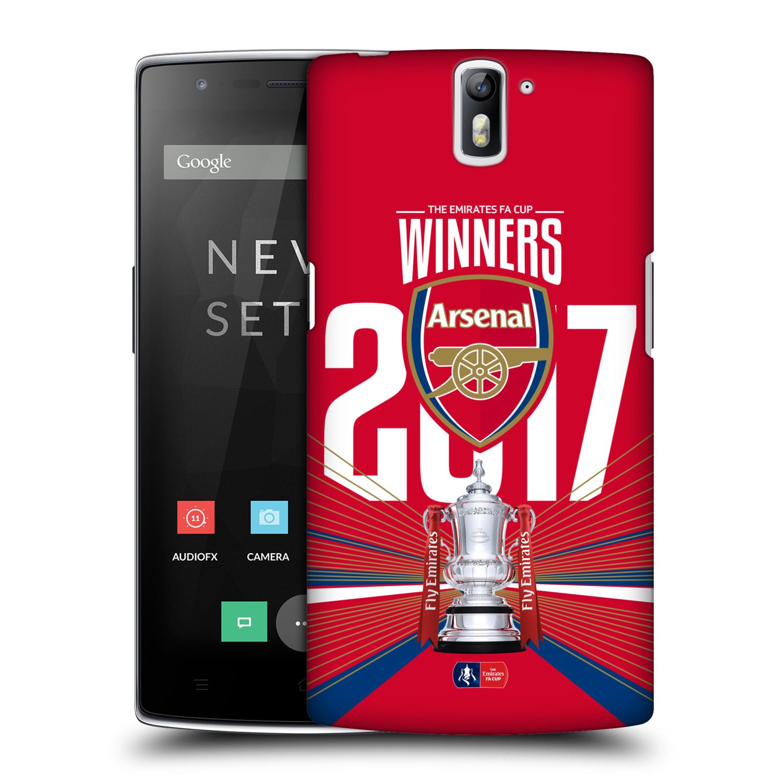Plastové pouzdro na mobil OnePlus One - Head Case - Arsenal FC - Trophy
