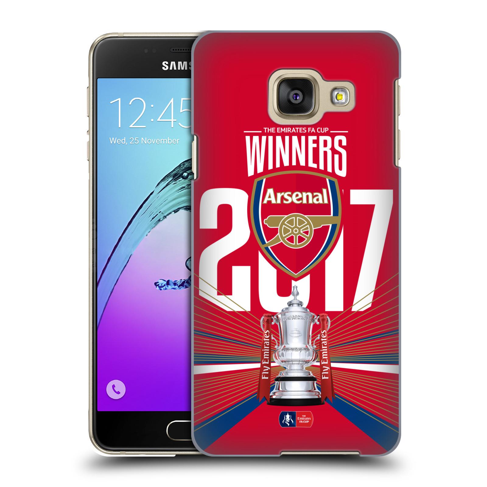 Plastové pouzdro na mobil Samsung Galaxy A3 (2016) - Head Case - Arsenal FC - Trophy