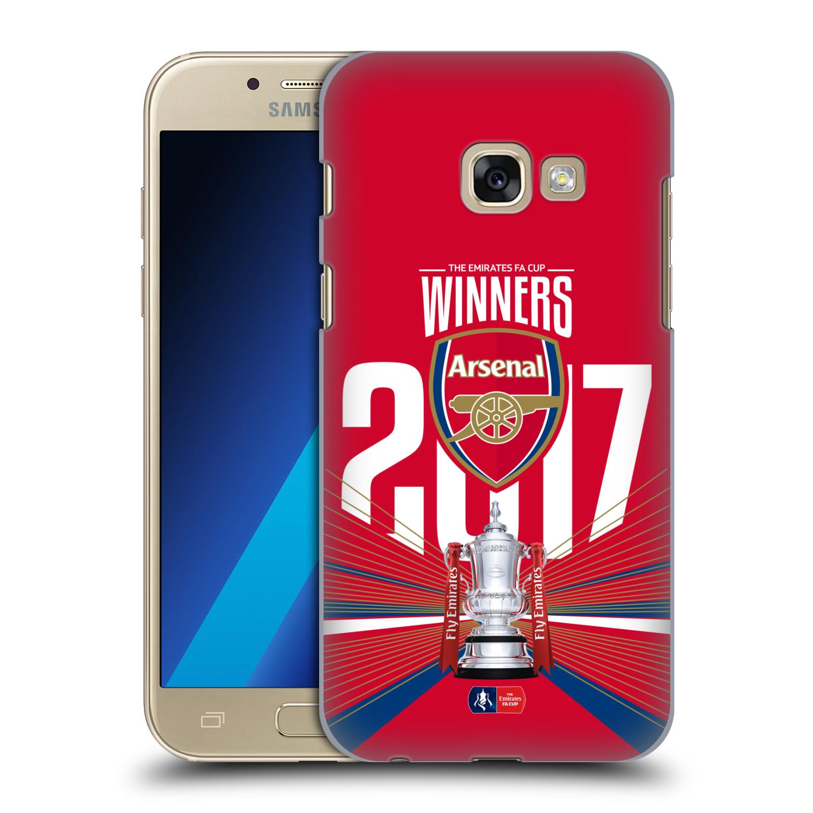 Plastové pouzdro na mobil Samsung Galaxy A3 (2017) - Head Case - Arsenal FC - Trophy