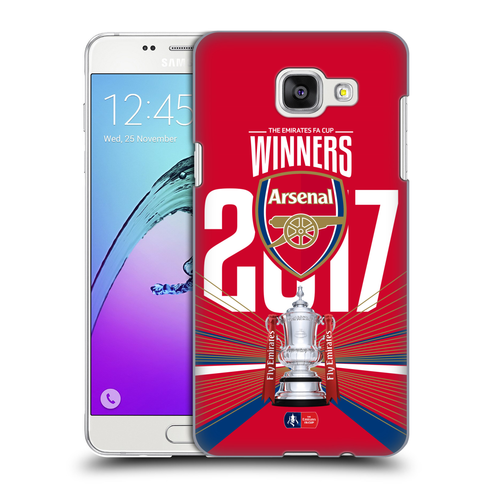 Plastové pouzdro na mobil Samsung Galaxy A5 (2016) - Head Case - Arsenal FC - Trophy