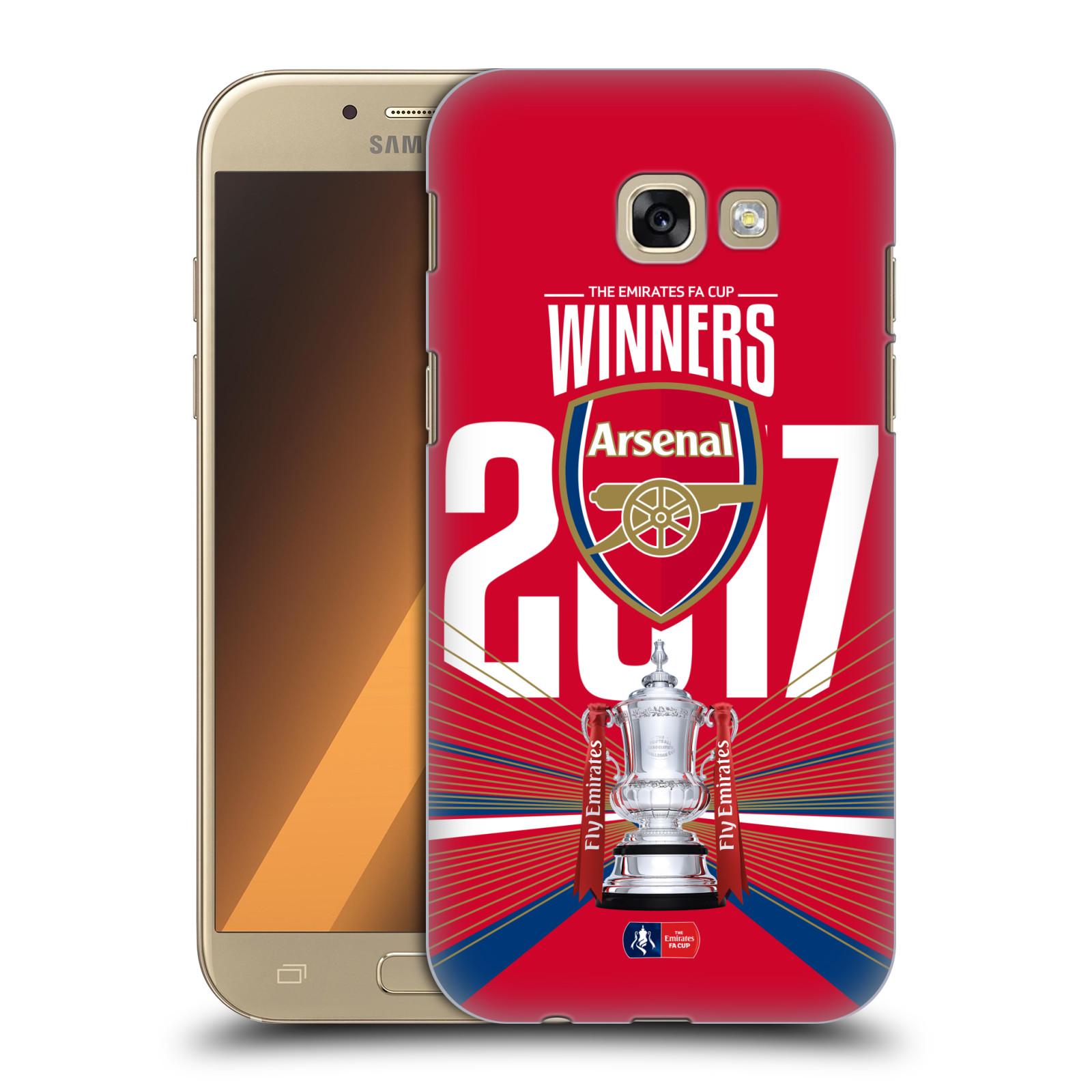 Plastové pouzdro na mobil Samsung Galaxy A5 (2017) - Head Case - Arsenal FC - Trophy