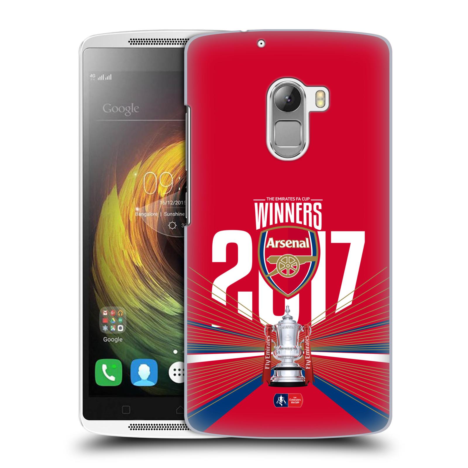 Plastové pouzdro na mobil Lenovo A7010 - Head Case - Arsenal FC - Trophy