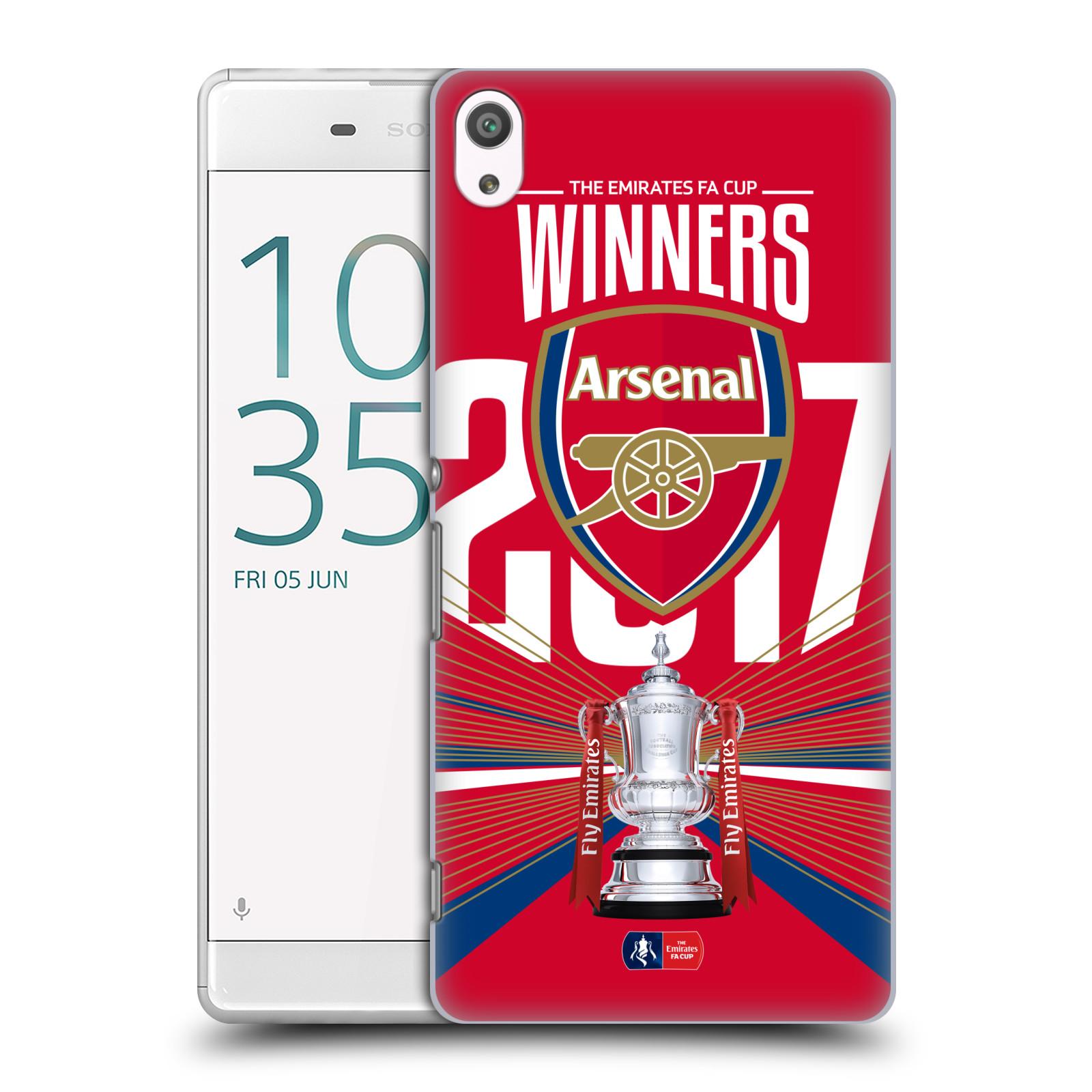 Plastové pouzdro na mobil Sony Xperia XA Ultra - Head Case - Arsenal FC - Trophy