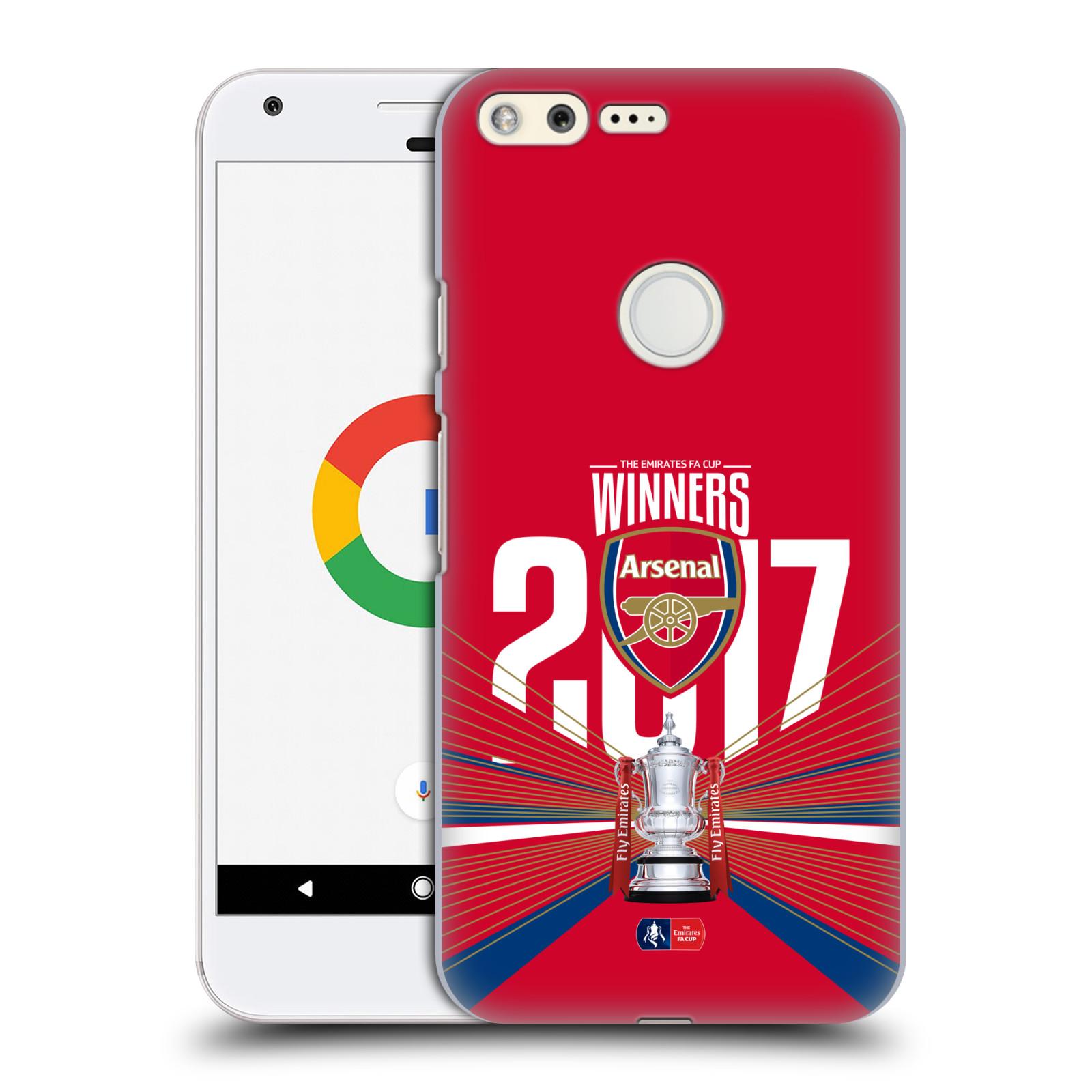 Plastové pouzdro na mobil Google Pixel - Head Case - Arsenal FC - Trophy