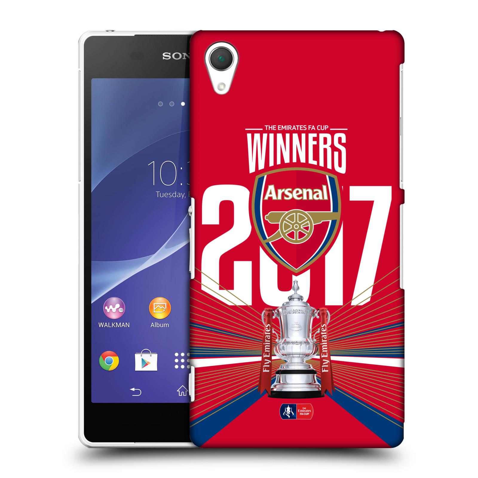 Plastové pouzdro na mobil Sony Xperia Z2 D6503 - Head Case - Arsenal FC - Trophy