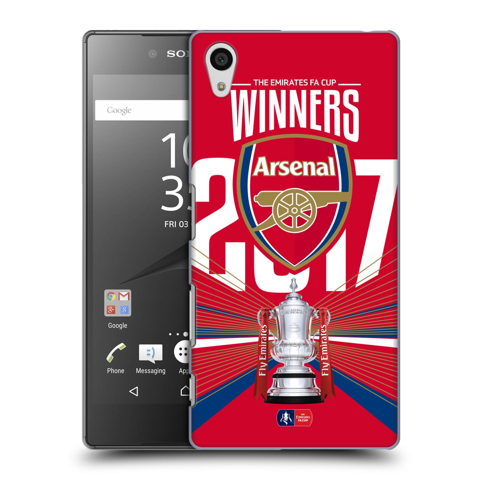 Plastové pouzdro na mobil Sony Xperia Z5 - Head Case - Arsenal FC - Trophy
