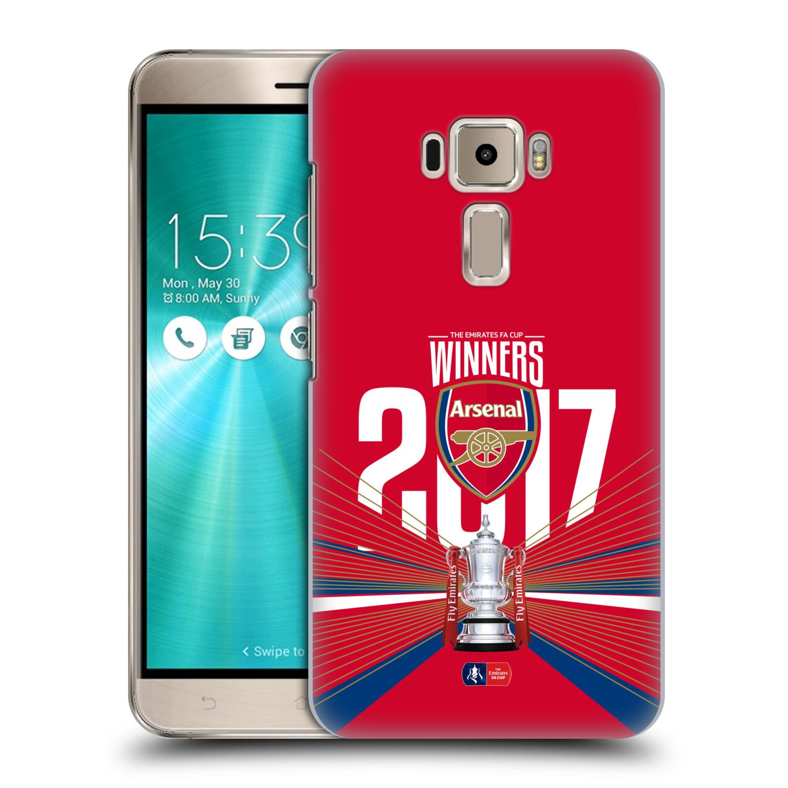 Plastové pouzdro na mobil Asus ZenFone 3 ZE520KL - Head Case - Arsenal FC - Trophy