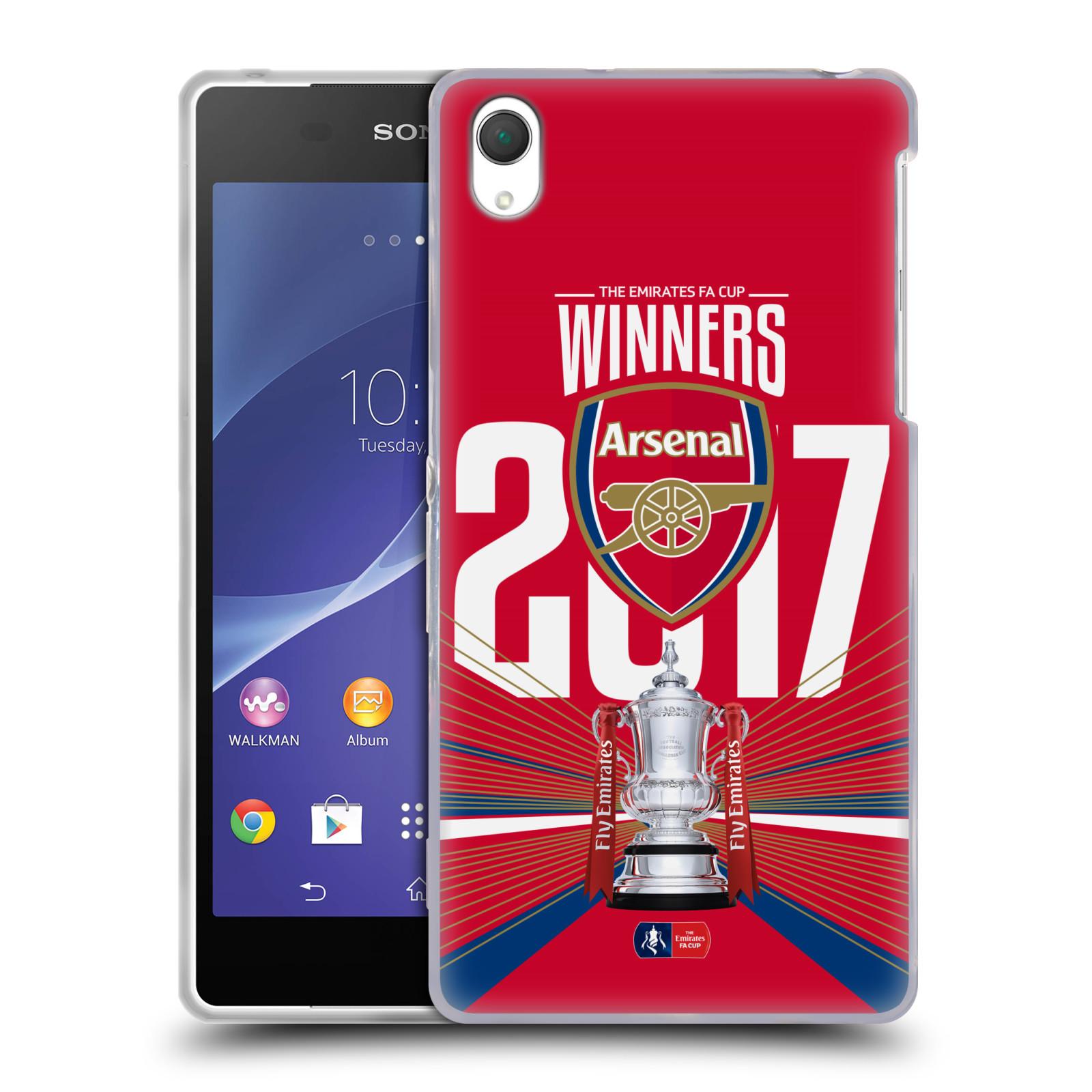 Silikonové pouzdro na mobil Sony Xperia Z2 D6503 - Head Case - Arsenal FC - Trophy