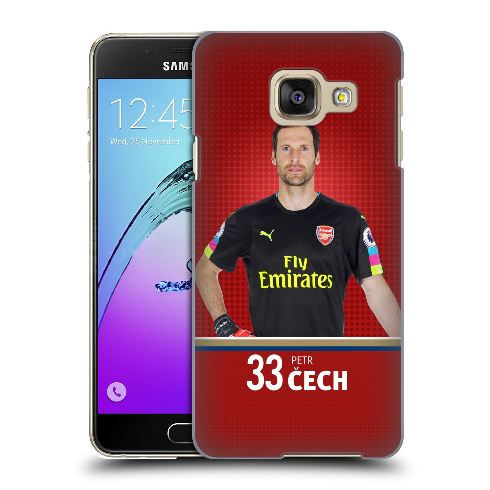 Plastové pouzdro na mobil Samsung Galaxy A3 (2016) - Head Case - Arsenal FC - Petr Čech