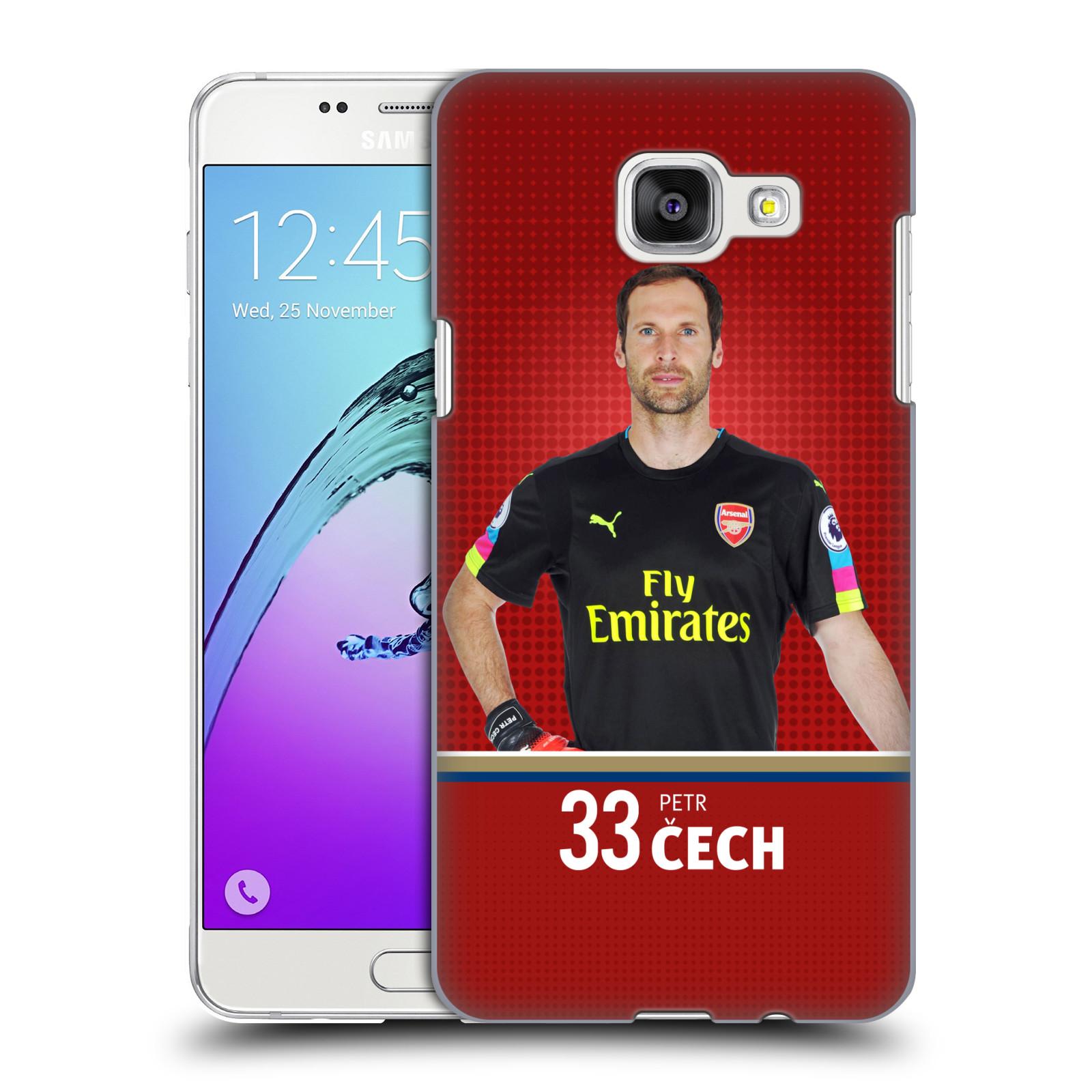 Plastové pouzdro na mobil Samsung Galaxy A5 (2016) - Head Case - Arsenal FC - Petr Čech