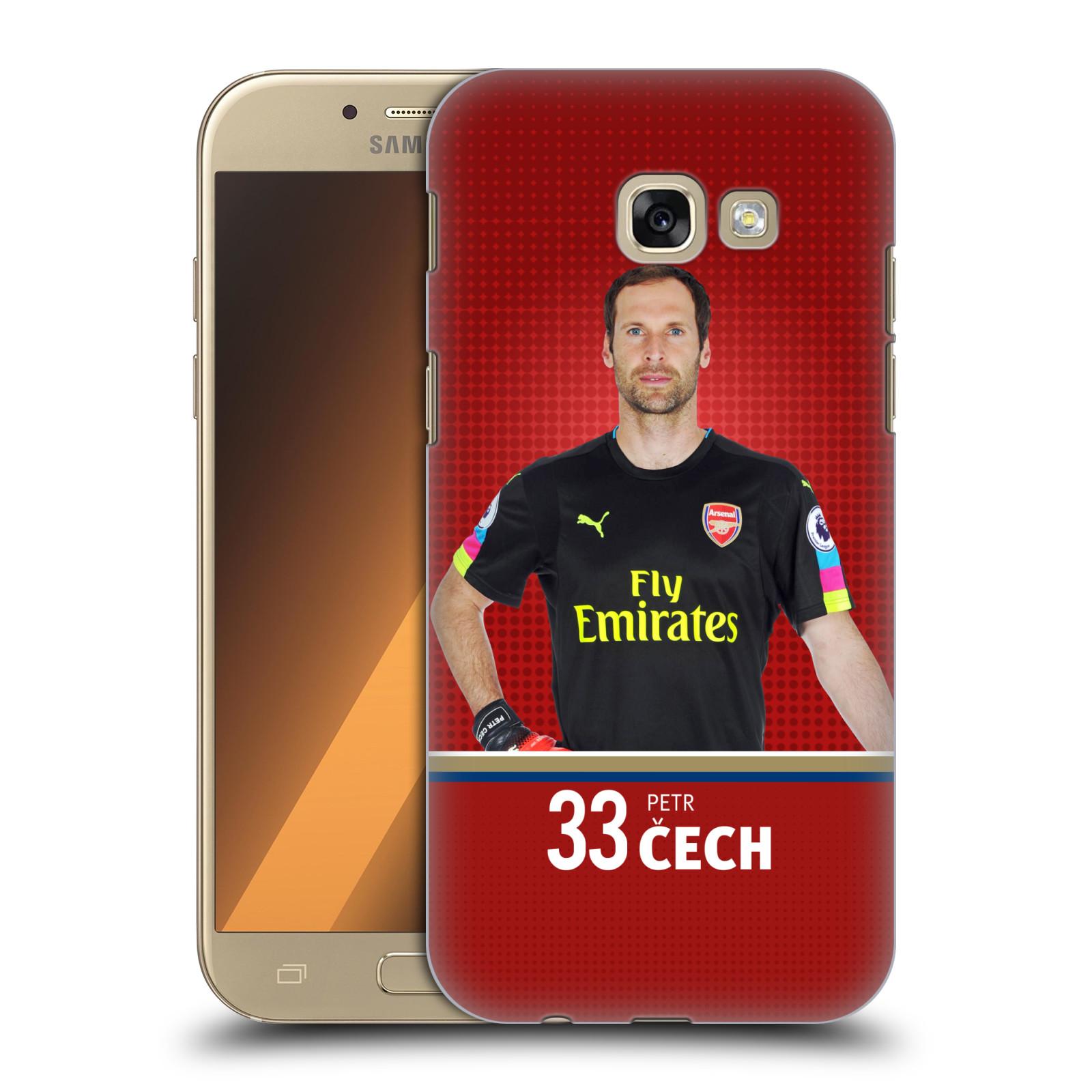 Plastové pouzdro na mobil Samsung Galaxy A5 (2017) - Head Case - Arsenal FC - Petr Čech