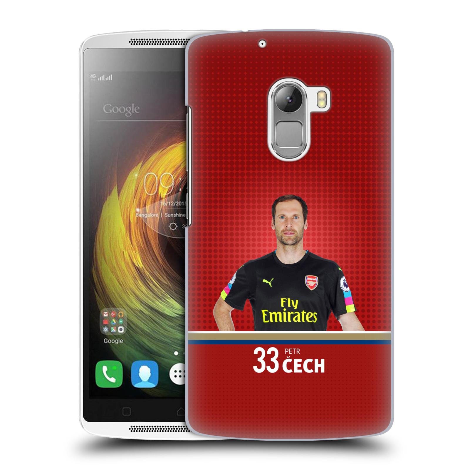 Plastové pouzdro na mobil Lenovo A7010 - Head Case - Arsenal FC - Petr Čech