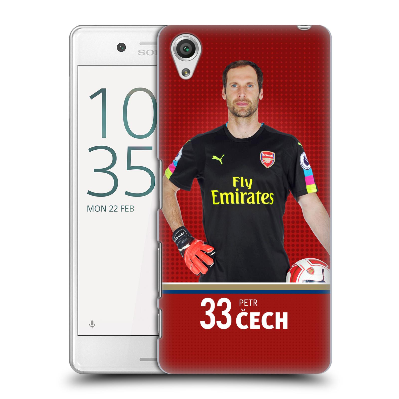 Plastové pouzdro na mobil Sony Xperia X Performance - Head Case - Arsenal FC - Petr Čech