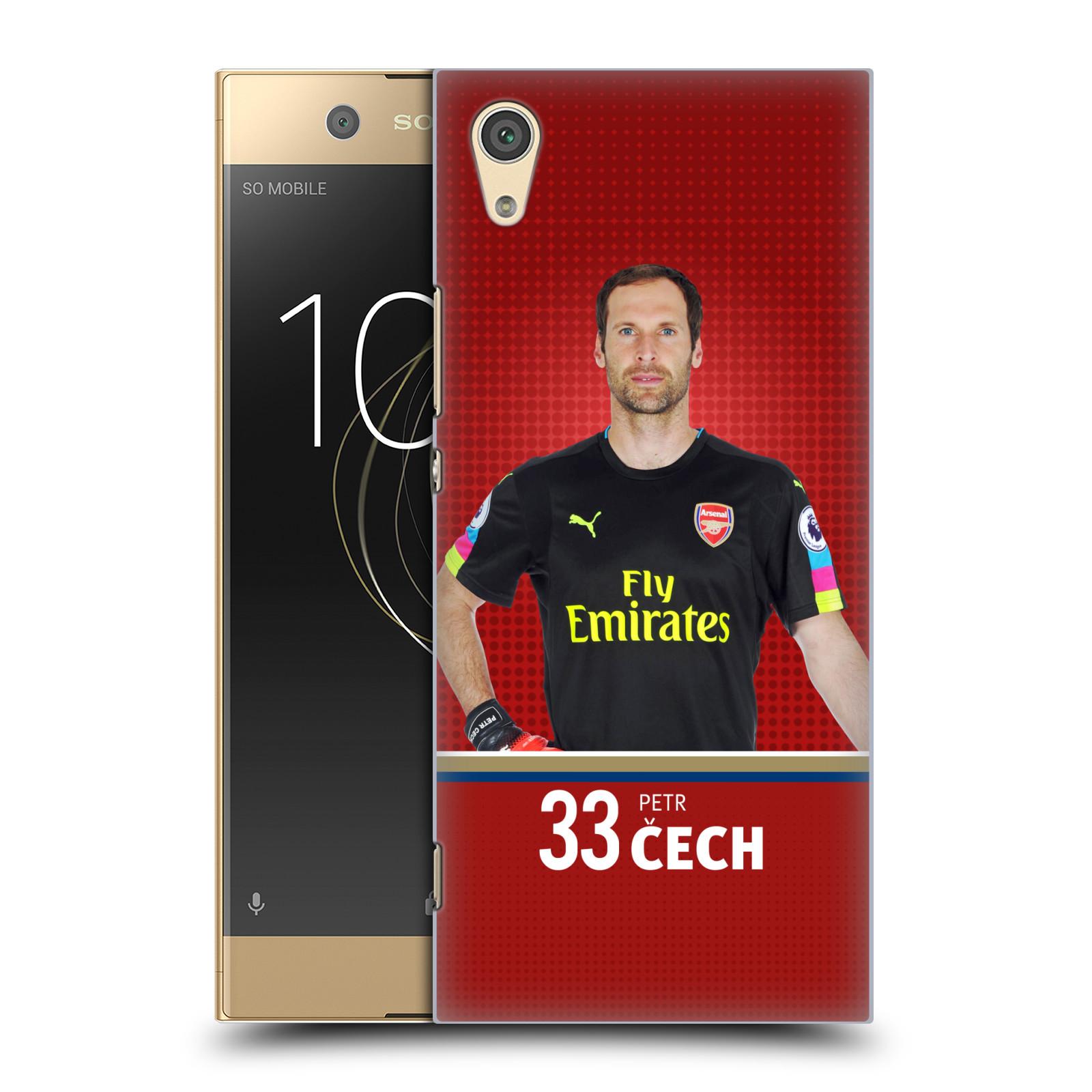 Plastové pouzdro na mobil Sony Xperia XA1 - Head Case - Arsenal FC - Petr Čech
