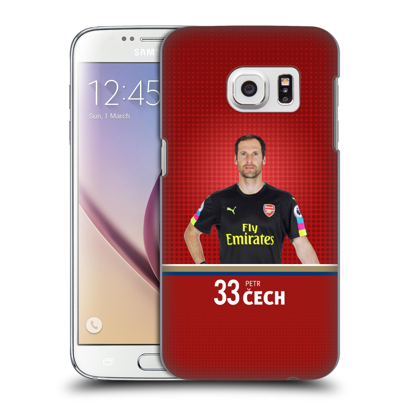 Plastové pouzdro na mobil Samsung Galaxy S7 - Head Case - Arsenal FC - Petr Čech