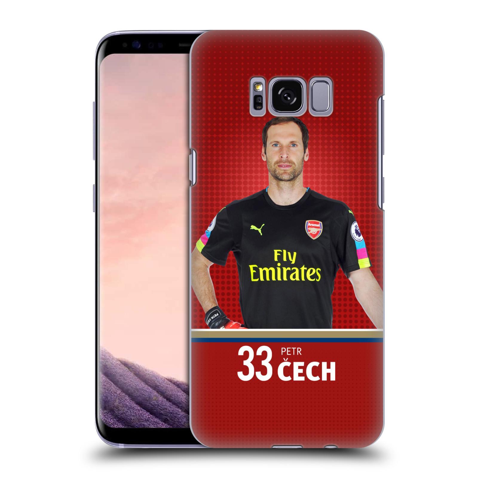 Plastové pouzdro na mobil Samsung Galaxy S8 - Head Case - Arsenal FC - Petr Čech