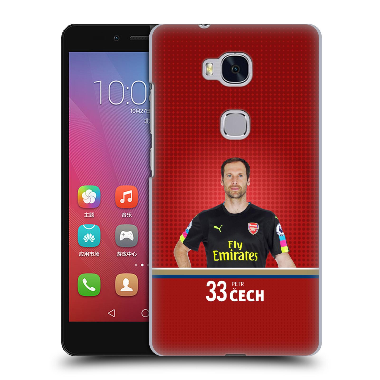 Plastové pouzdro na mobil Honor 5X - Head Case - Arsenal FC - Petr Čech