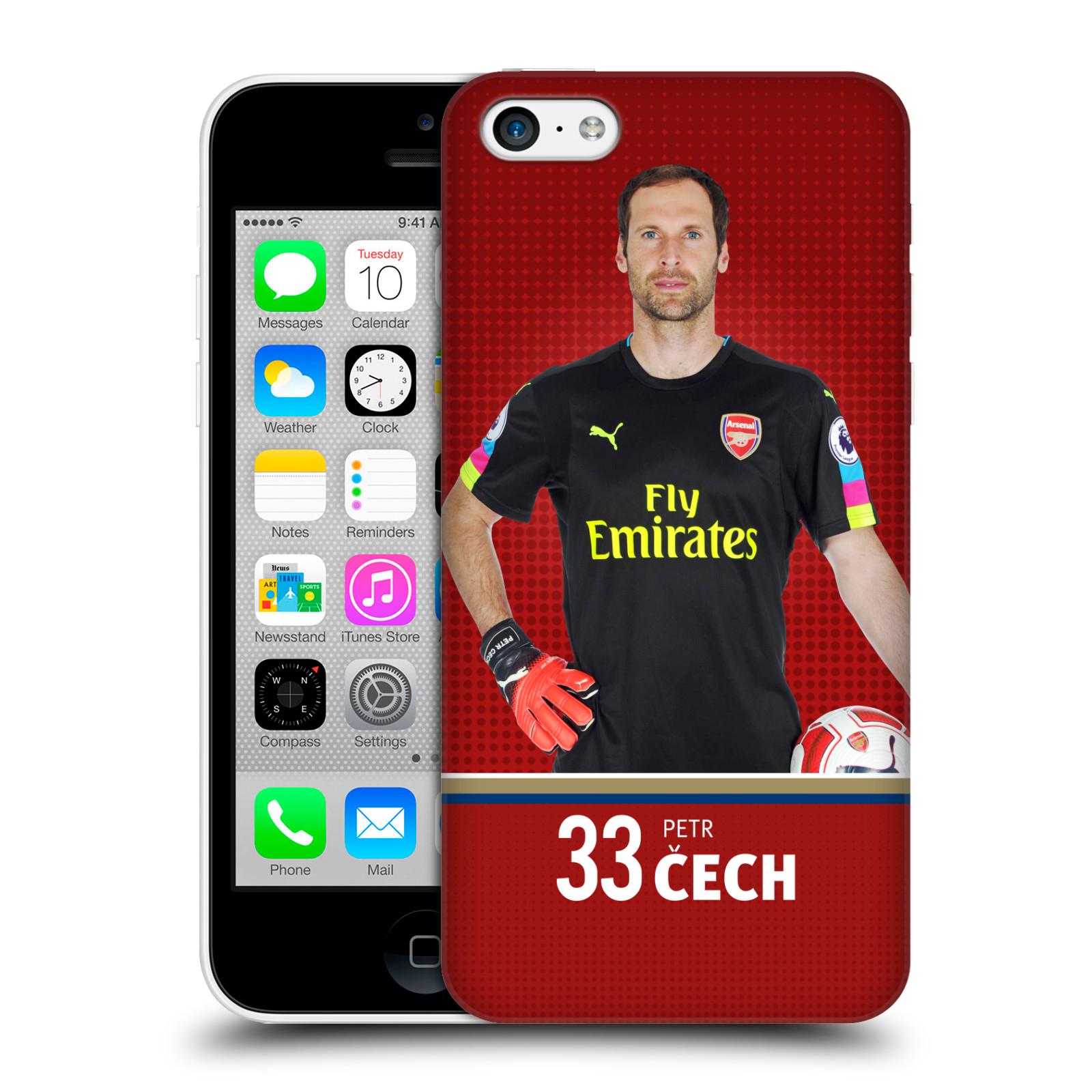 Plastové pouzdro na mobil Apple iPhone 5C - Head Case - Arsenal FC - Petr Čech