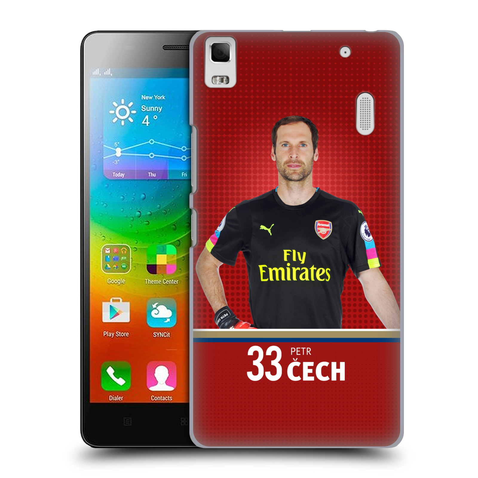 Plastové pouzdro na mobil Lenovo A7000 - Head Case - Arsenal FC - Petr Čech