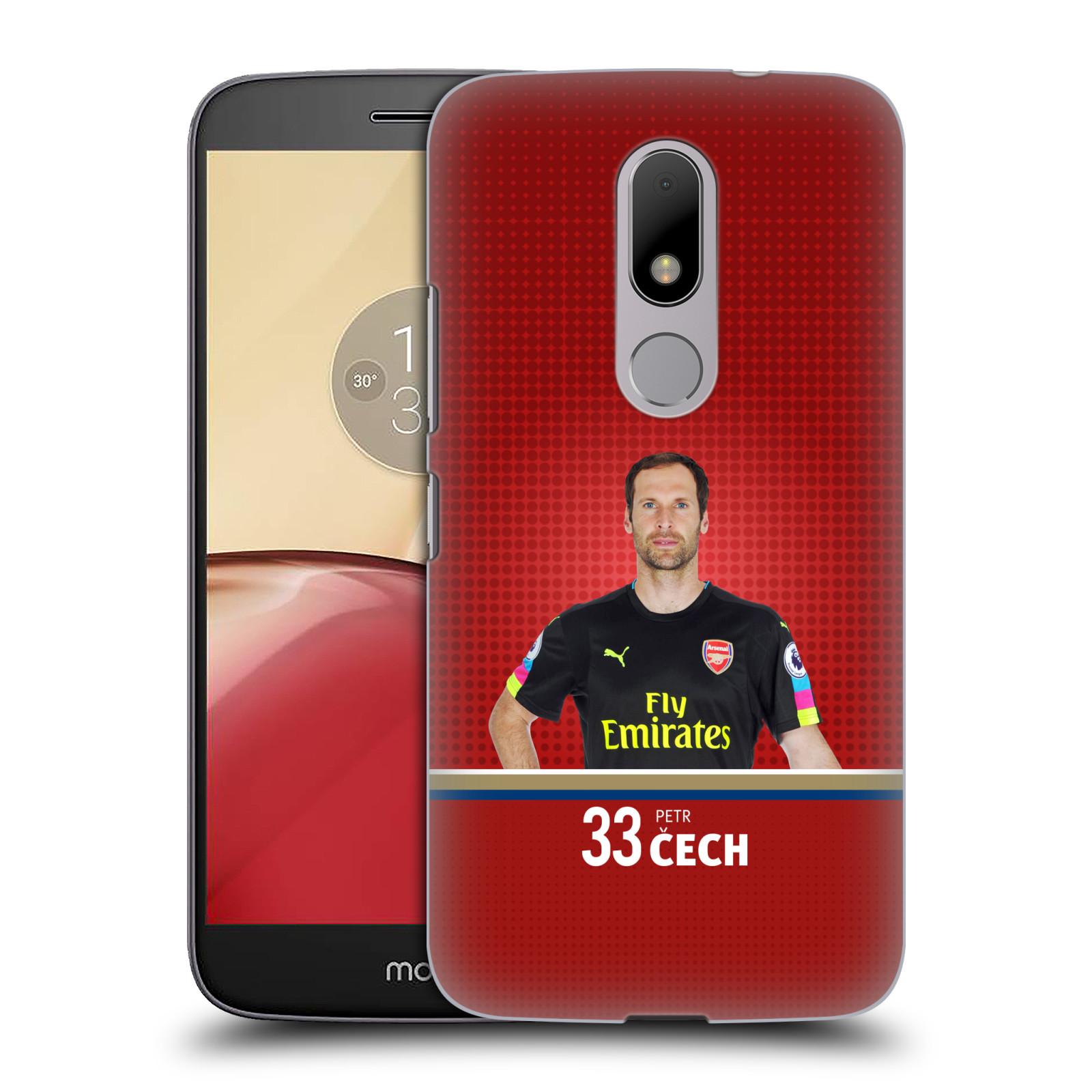 Plastové pouzdro na mobil Lenovo Moto M - Head Case - Arsenal FC - Petr Čech
