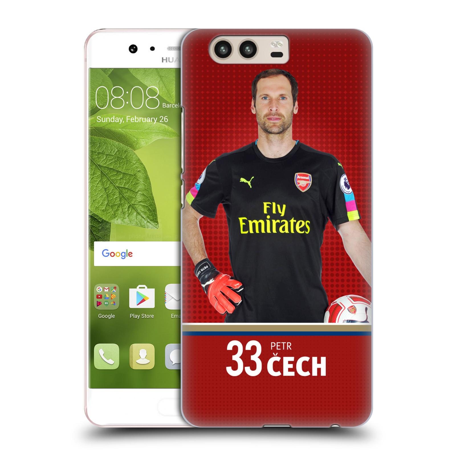 Plastové pouzdro na mobil Huawei P10 - Head Case - Arsenal FC - Petr Čech