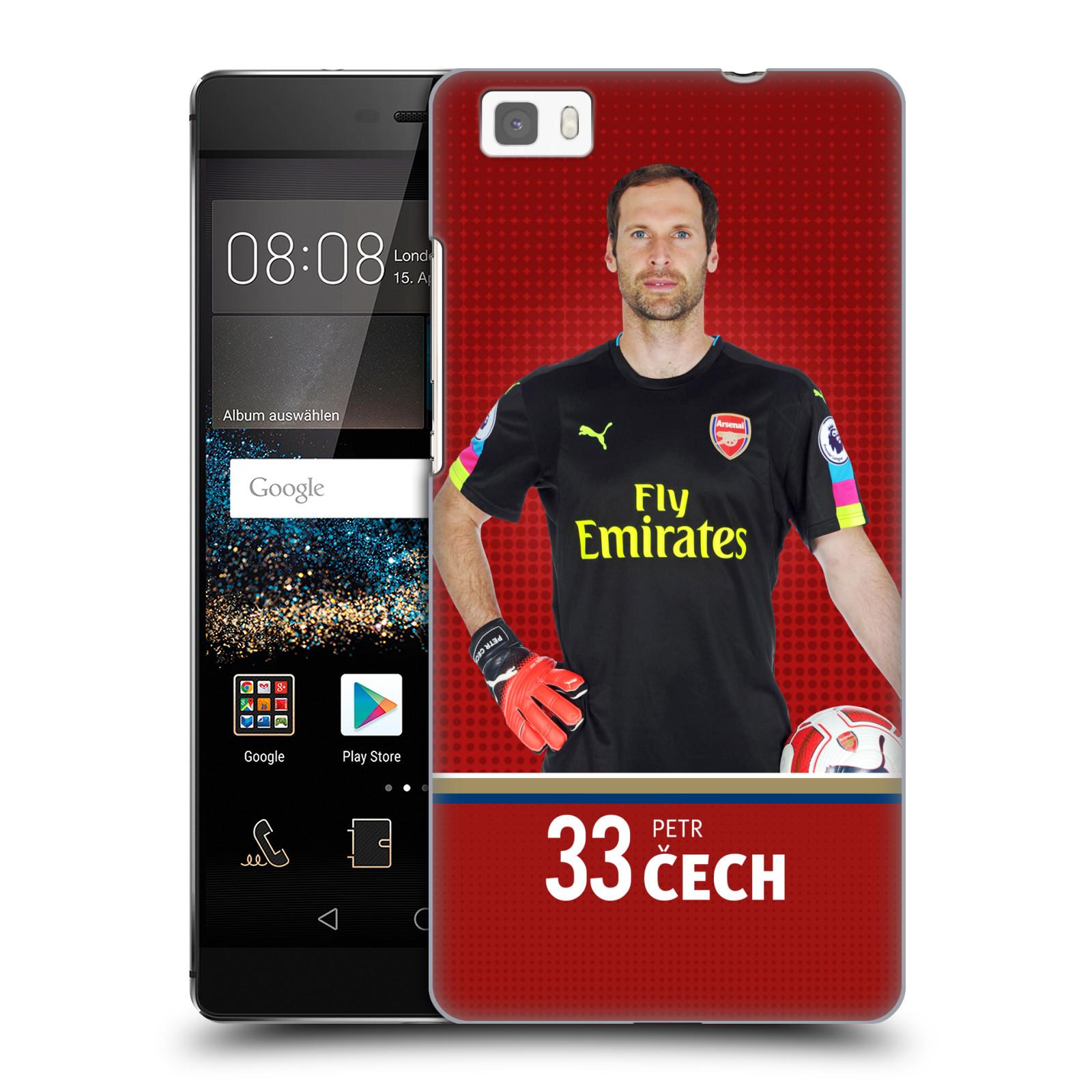 Plastové pouzdro na mobil Huawei P8 Lite - Head Case - Arsenal FC - Petr Čech