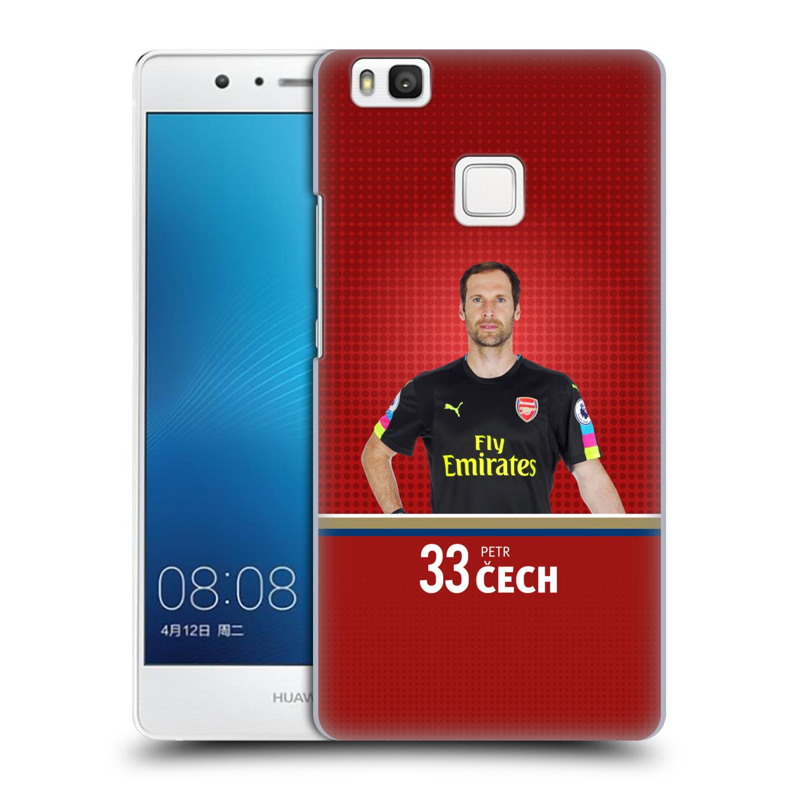 Plastové pouzdro na mobil Huawei P9 Lite - Head Case - Arsenal FC - Petr Čech