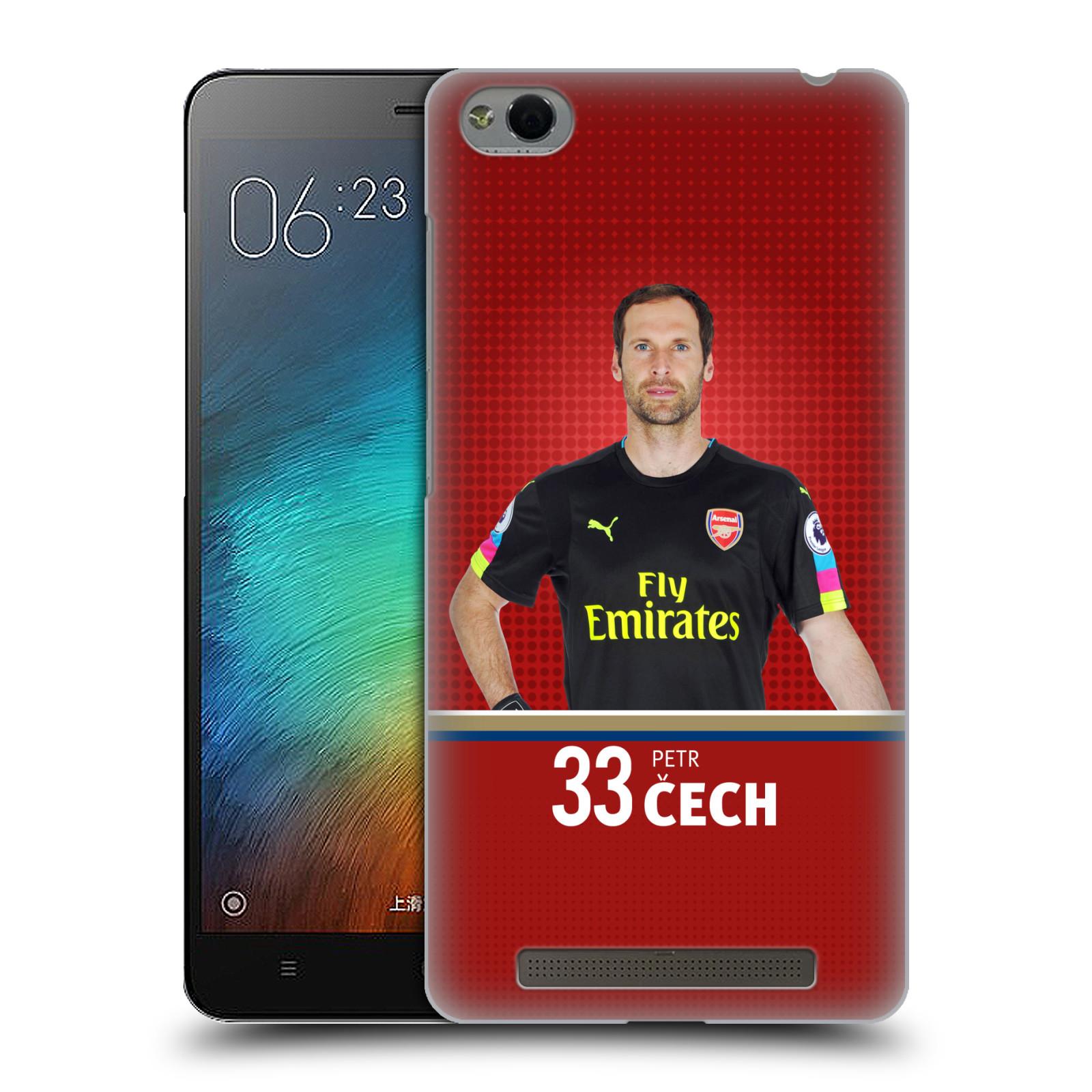 Plastové pouzdro na mobil Xiaomi Redmi 3 - Head Case - Arsenal FC - Petr Čech