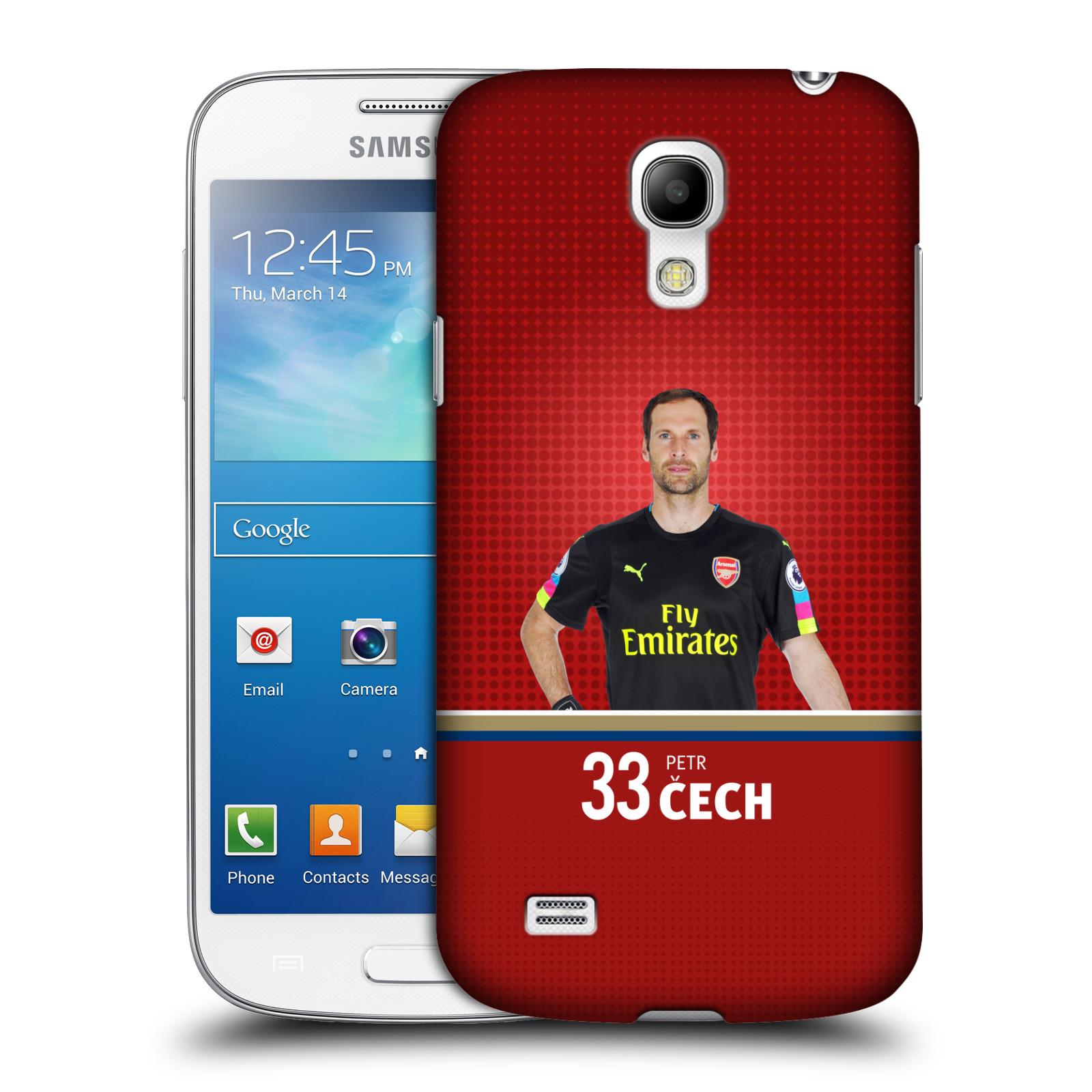 Plastové pouzdro na mobil Samsung Galaxy S4 Mini - Head Case - Arsenal FC - Petr Čech